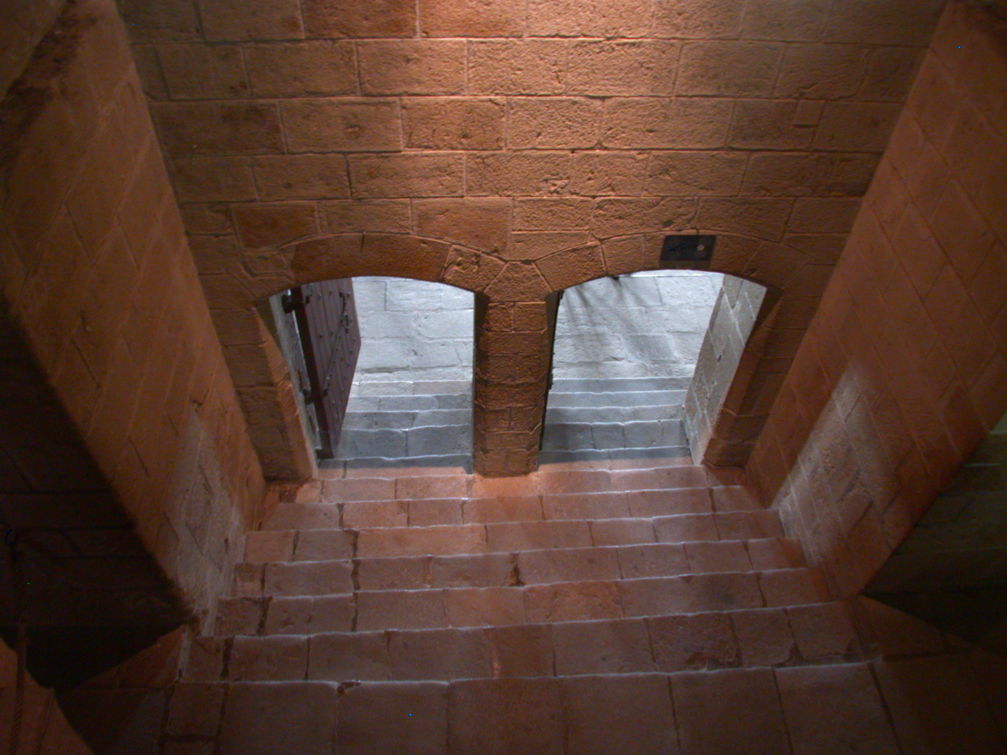 door doors gladiators entrance stone stairs