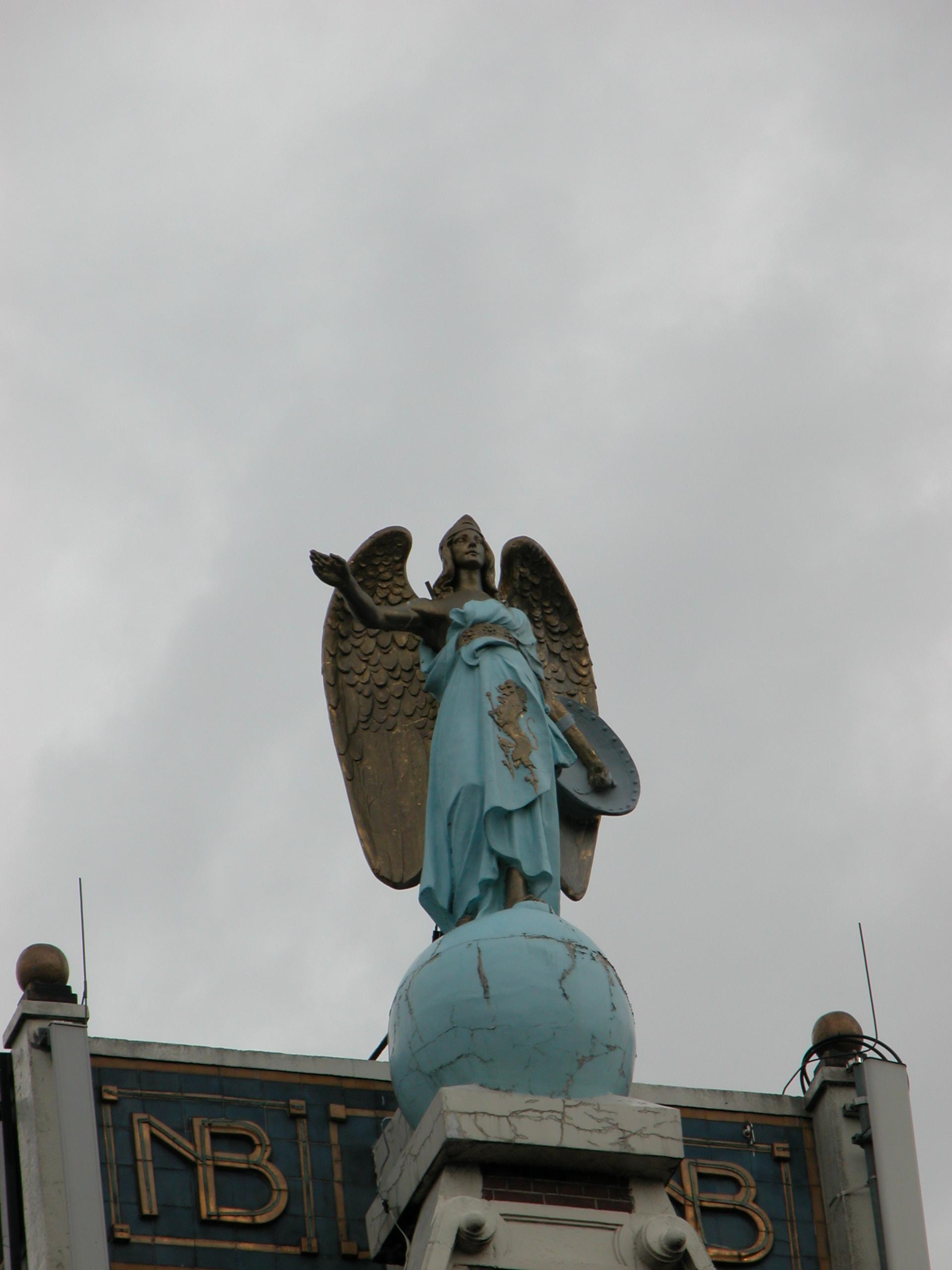 art sculptures angel amsterdam statue