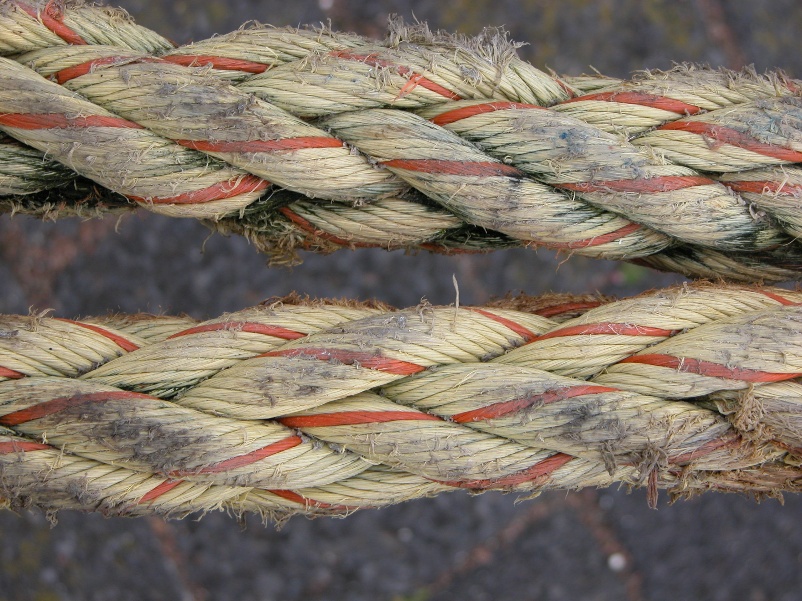 ropes rope old used free