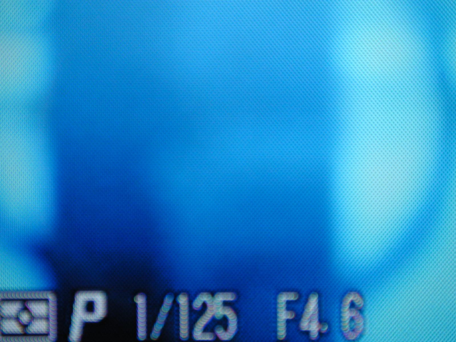 nikon lcd screen camera blue