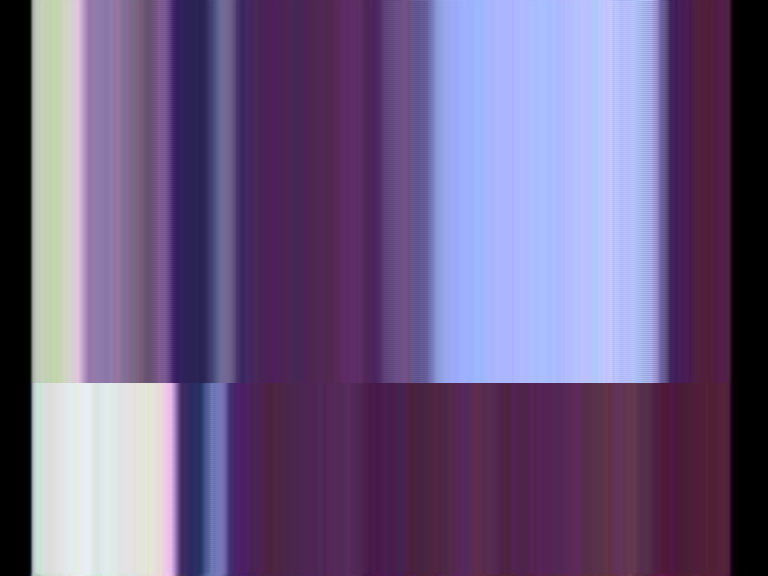a jpeg image gone haywire still a cool image purple stripes