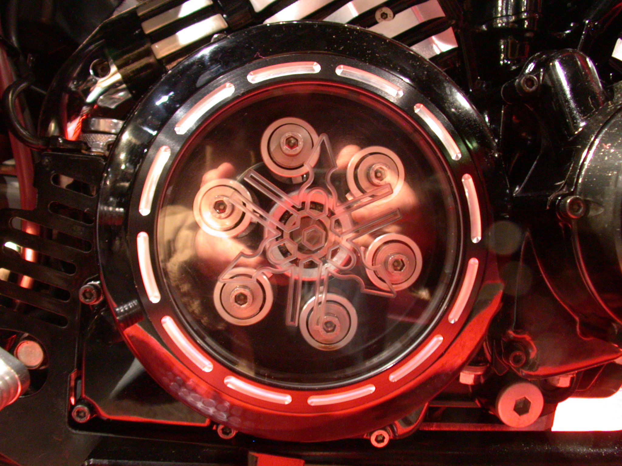 bike engine futuristic round circle