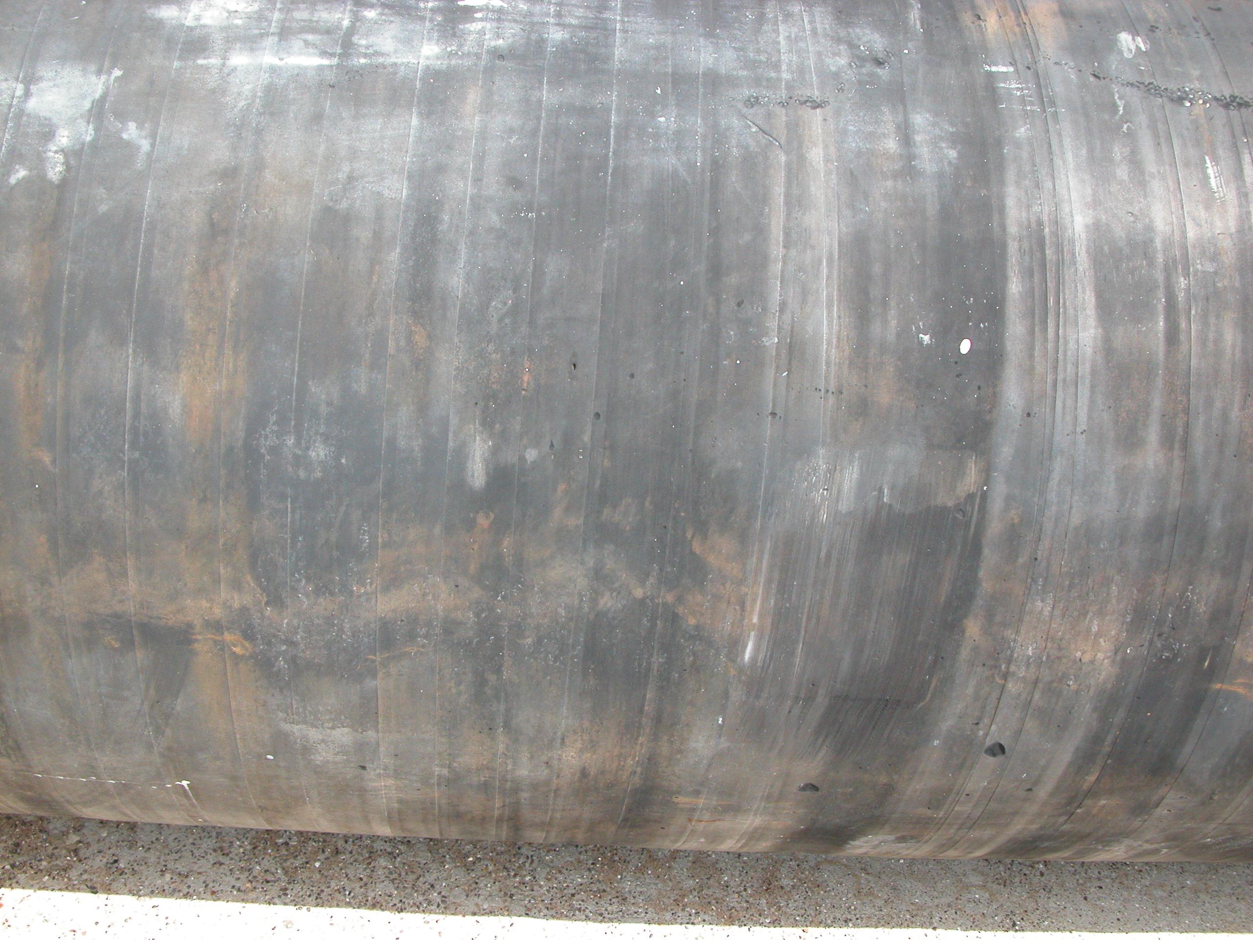 pipe metal old steel metal curved
