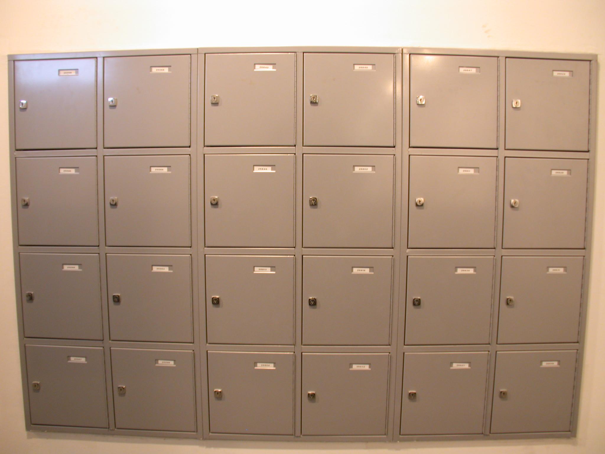 post boxes lockers