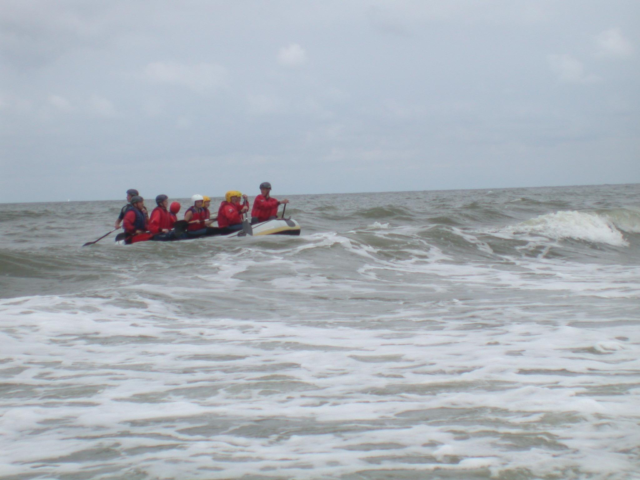 nature characters humanoids watersport watersports sport sports summer raft rafting sea group
