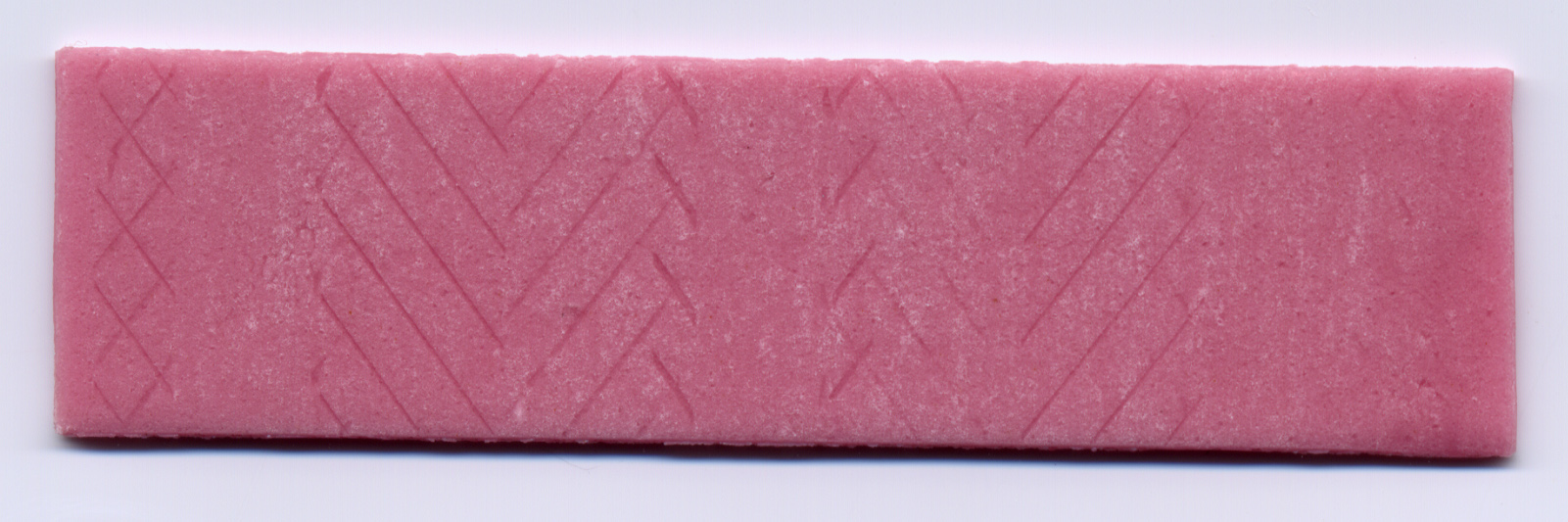 piece of chewinggum chewing gum pink candy