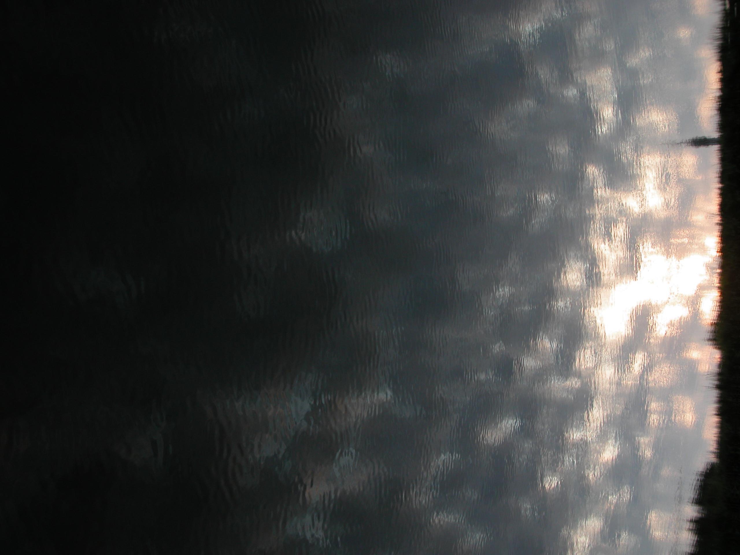 reflection reflecting wave waves wavelets mirror image