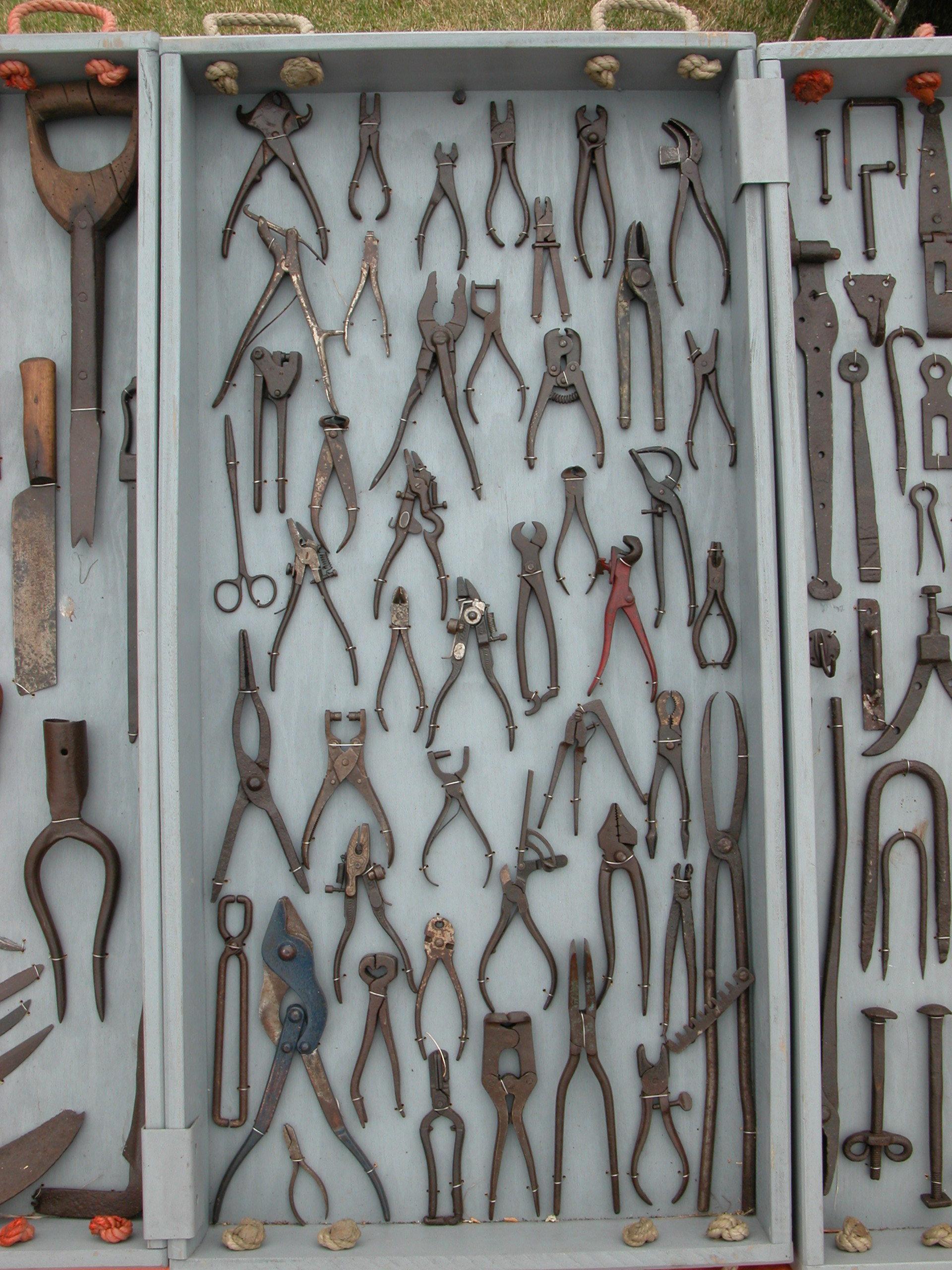 objects tools metal scissors pliers plier