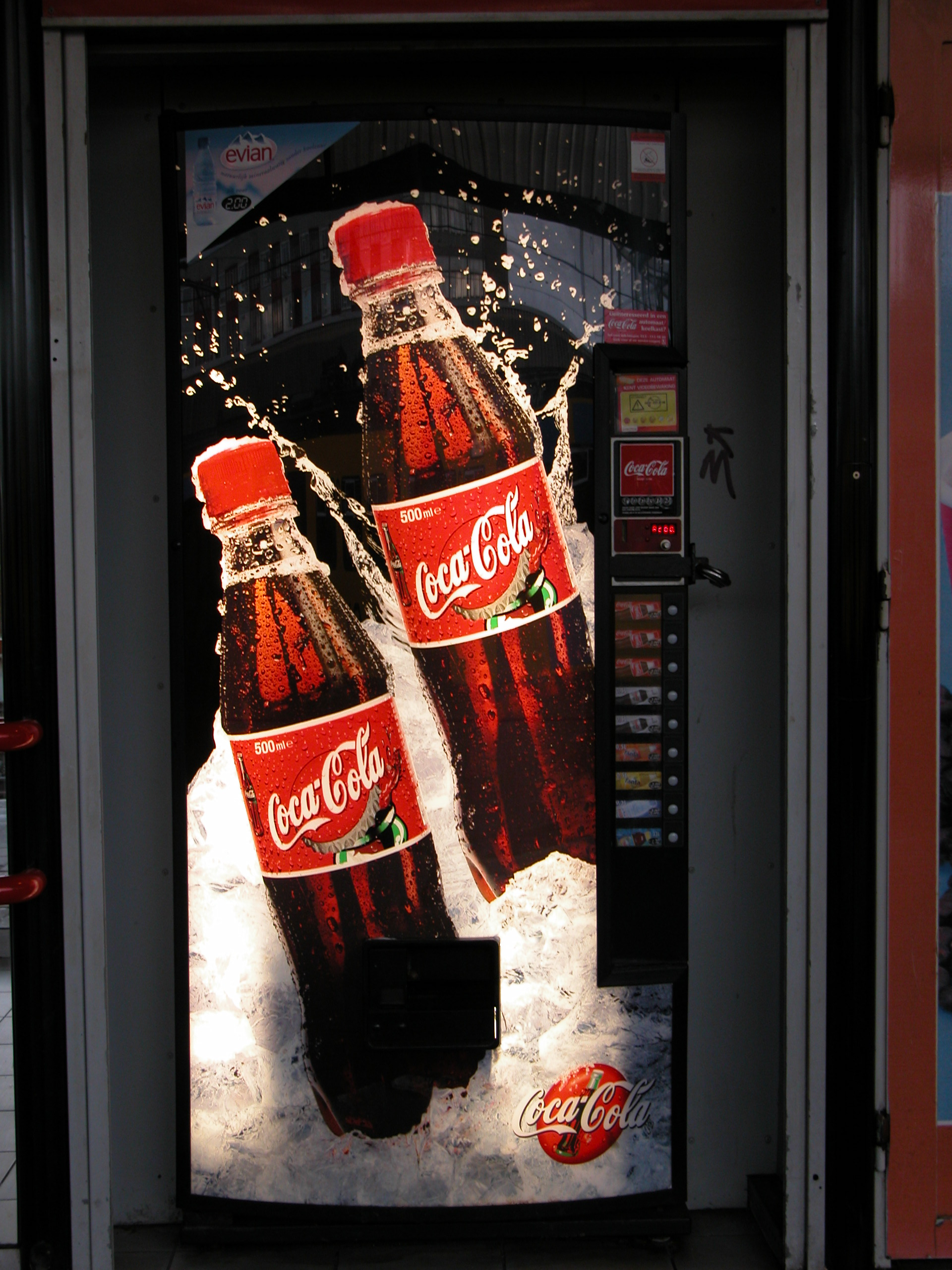 coke machine vending machine
