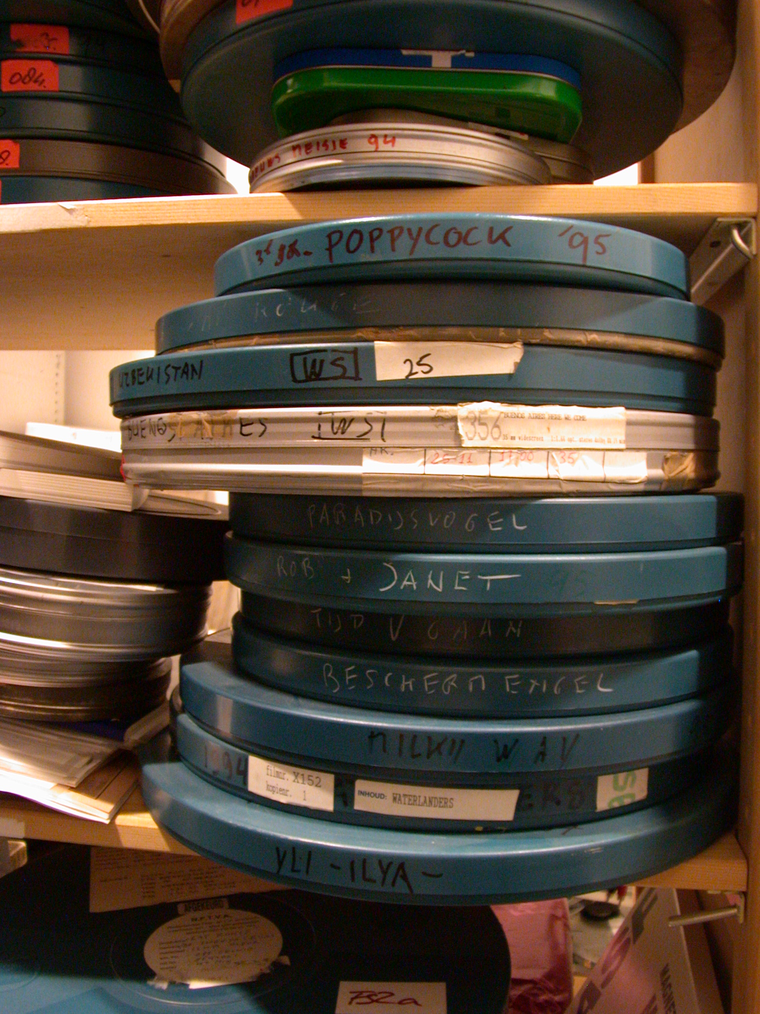 film cans celluloid canisters