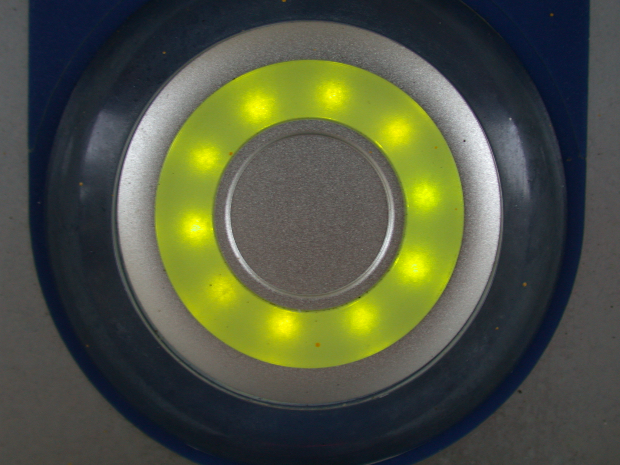 round button yellow push circle plastic light led royalty free