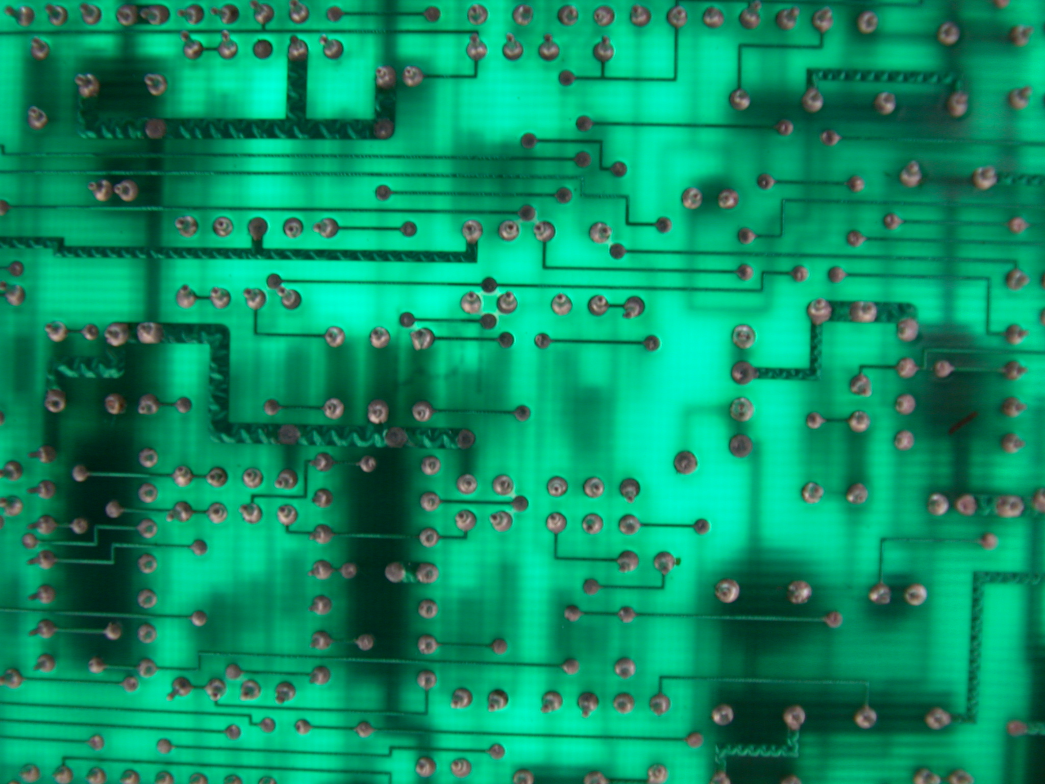 objects circuits circuitboard green solder chips computer hi-res