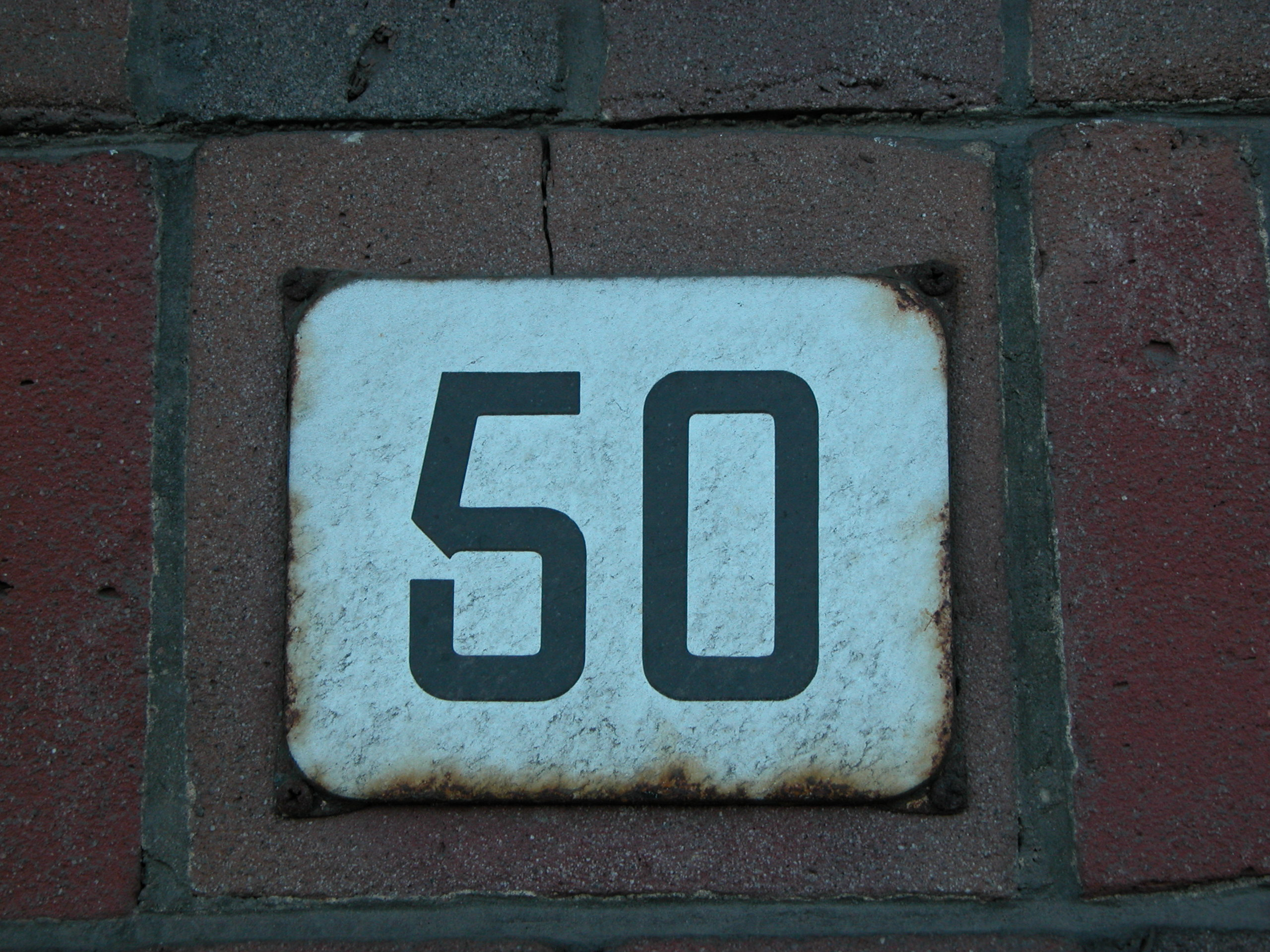 typography number numbers 50 5 0 sanserif housenumber