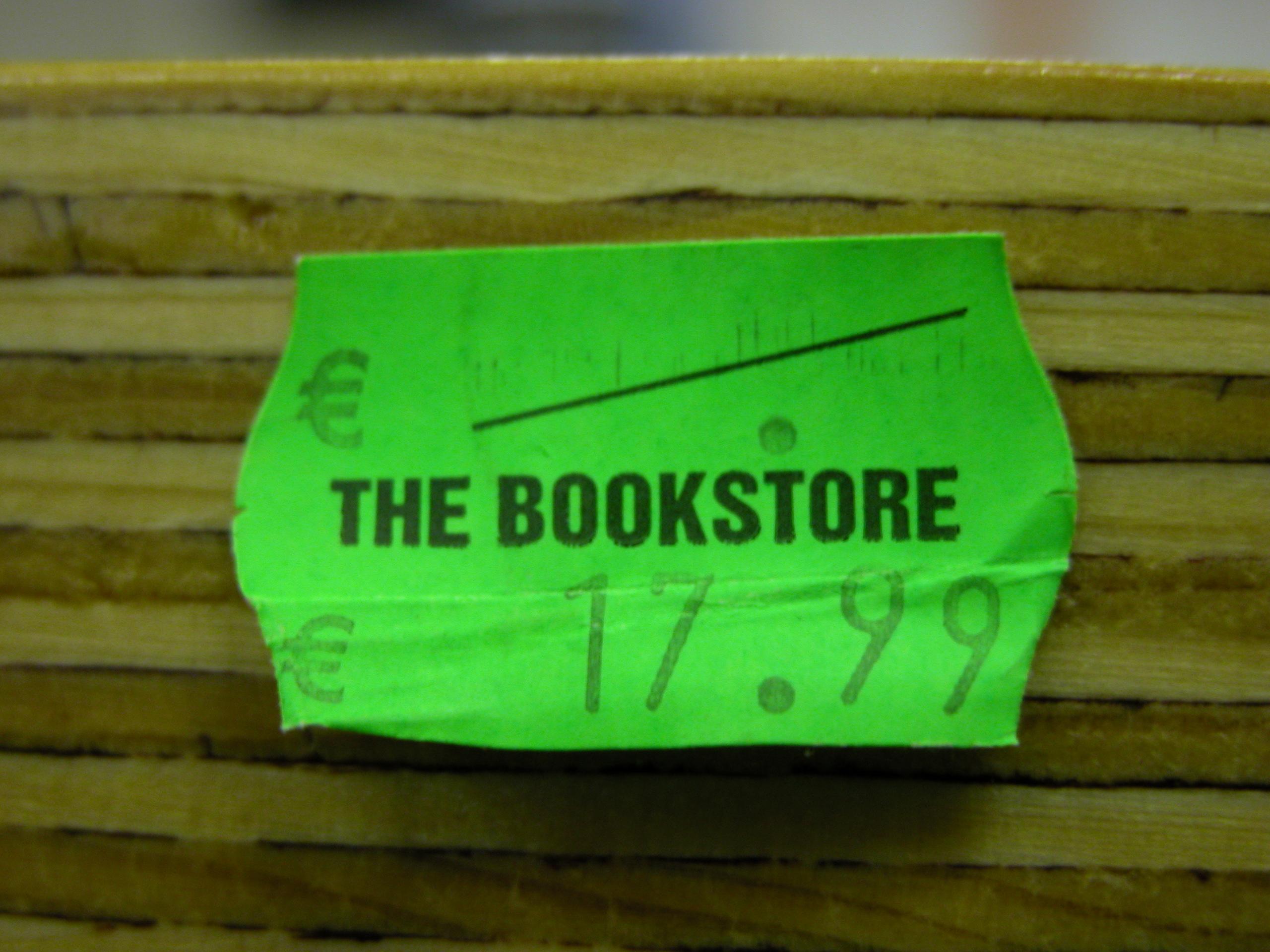 scripts sticker pricetag tag price typography bookstore euro numbers green sanserif