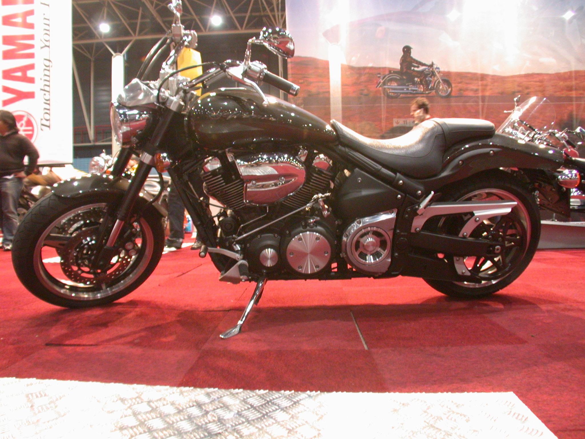 motor motorbike showroom show bike shiny