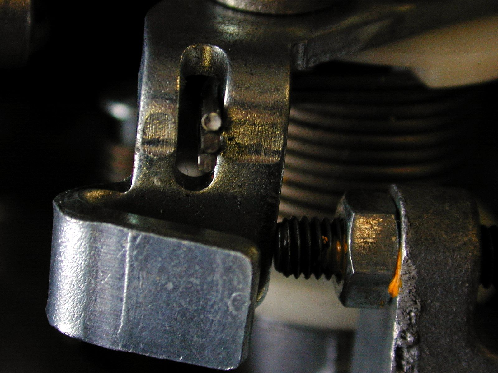 construction tools bolts screw iron