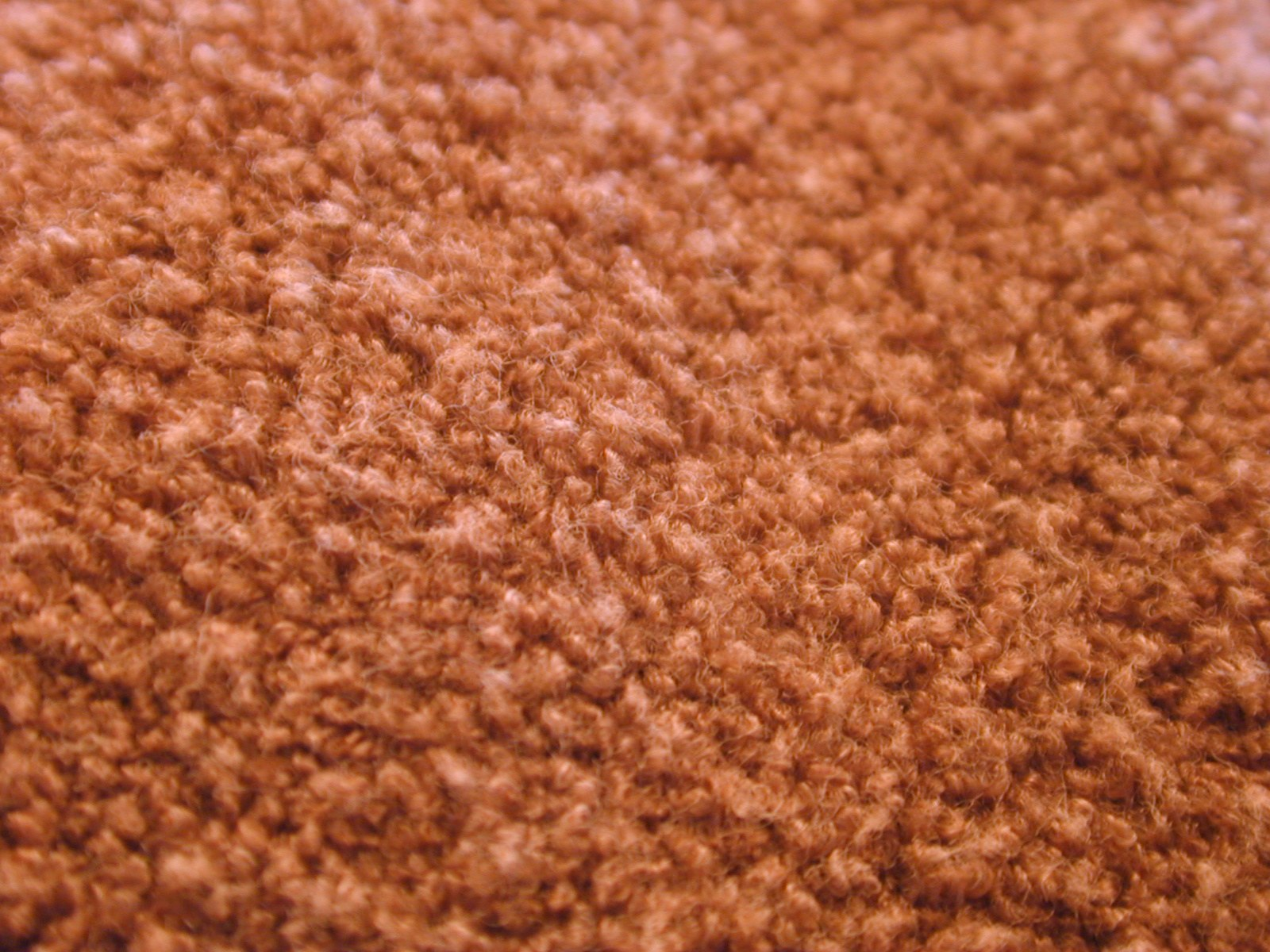 orange carpet wool fiber fabric soft