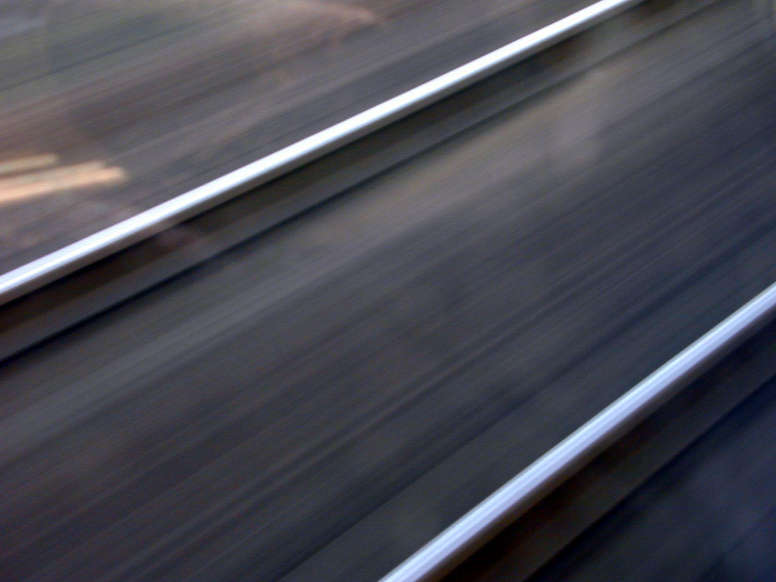 rails tracks fast blur iron speed public transport