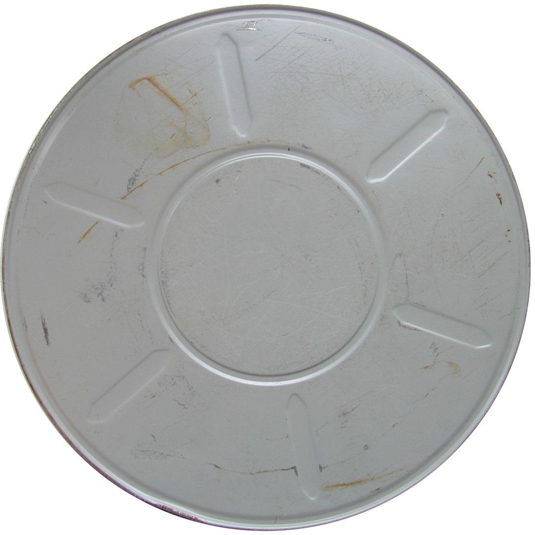 film can tin drum grey steel round movie