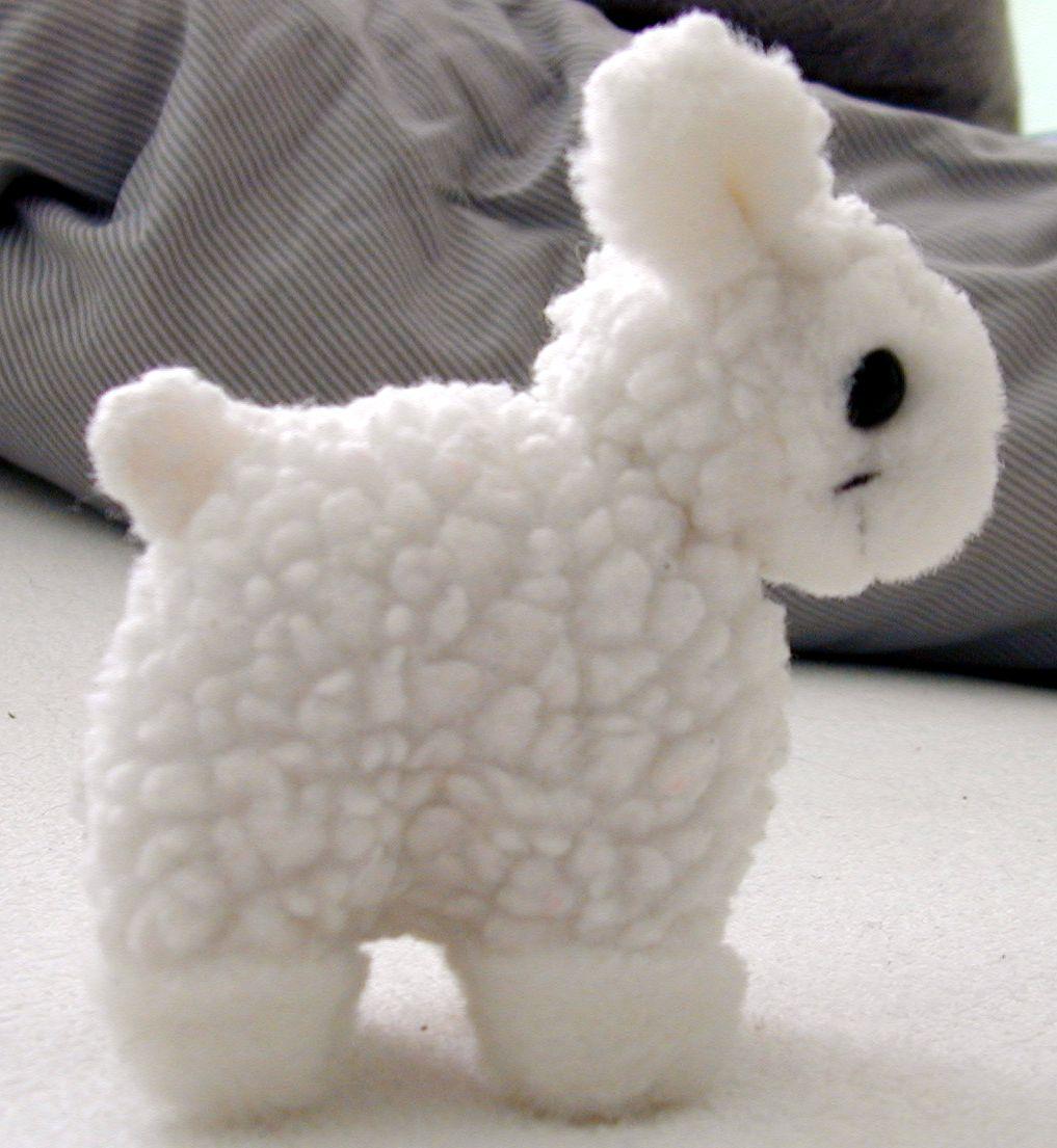 sheep cute toy plush