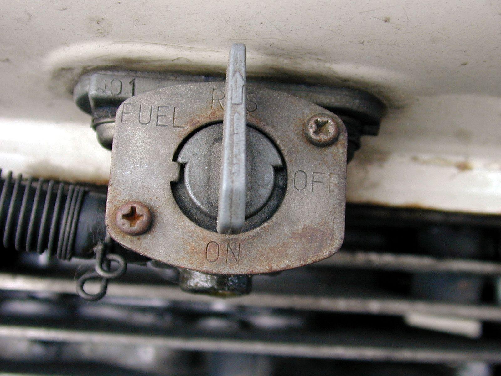 fuel faucet tap engine screw typo typography 001 on hose alumium aluminium metal rubber