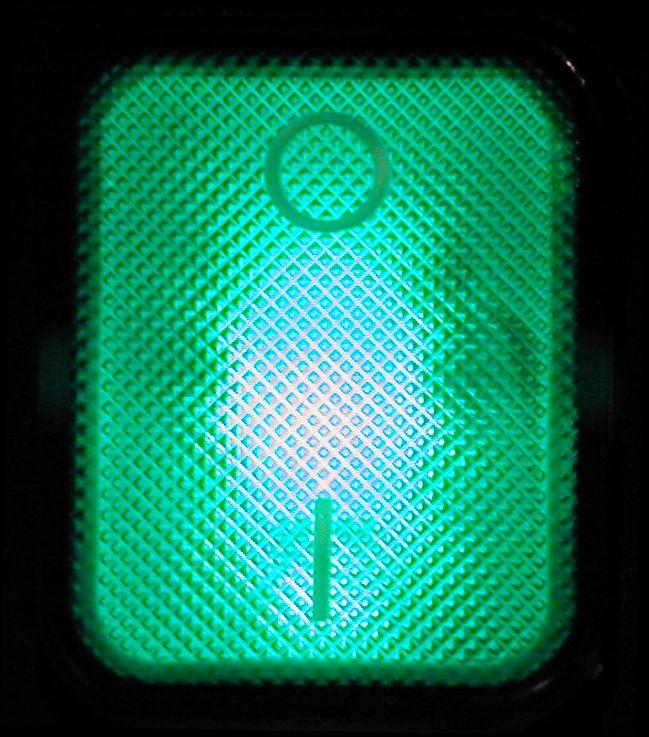 button switch light green 0 1 on off machine typo typography modern texture pattern lightfx light_fx image