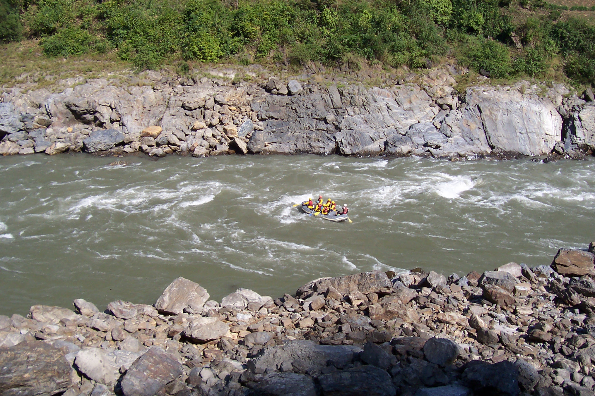 annet raft rafting sports vehicles water river whitewater wild royalty free