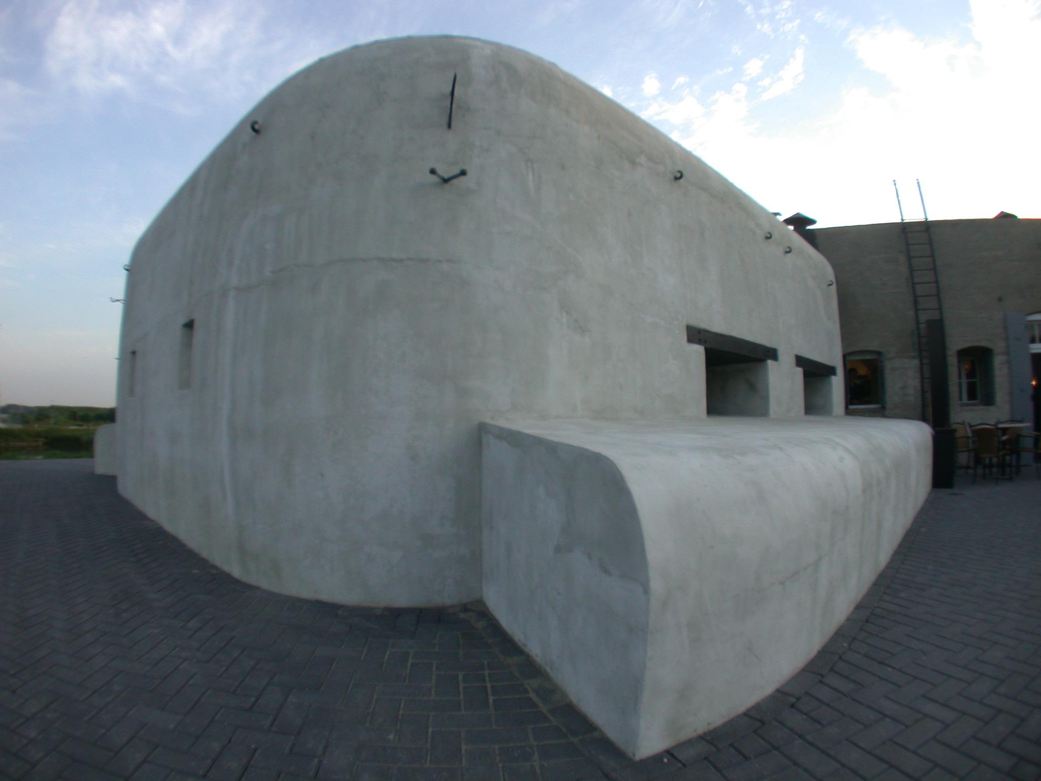 bunker architecture exteriors wo2 woII woI wo1 concrete fortress vijfhuizen