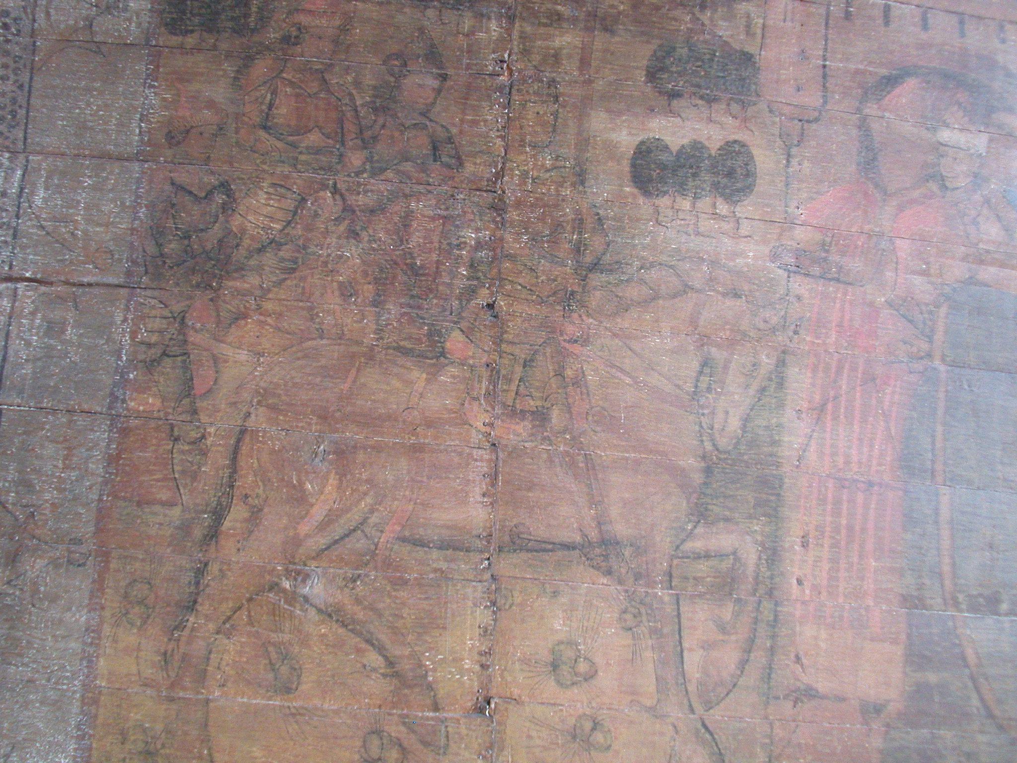 medieval painting on wood