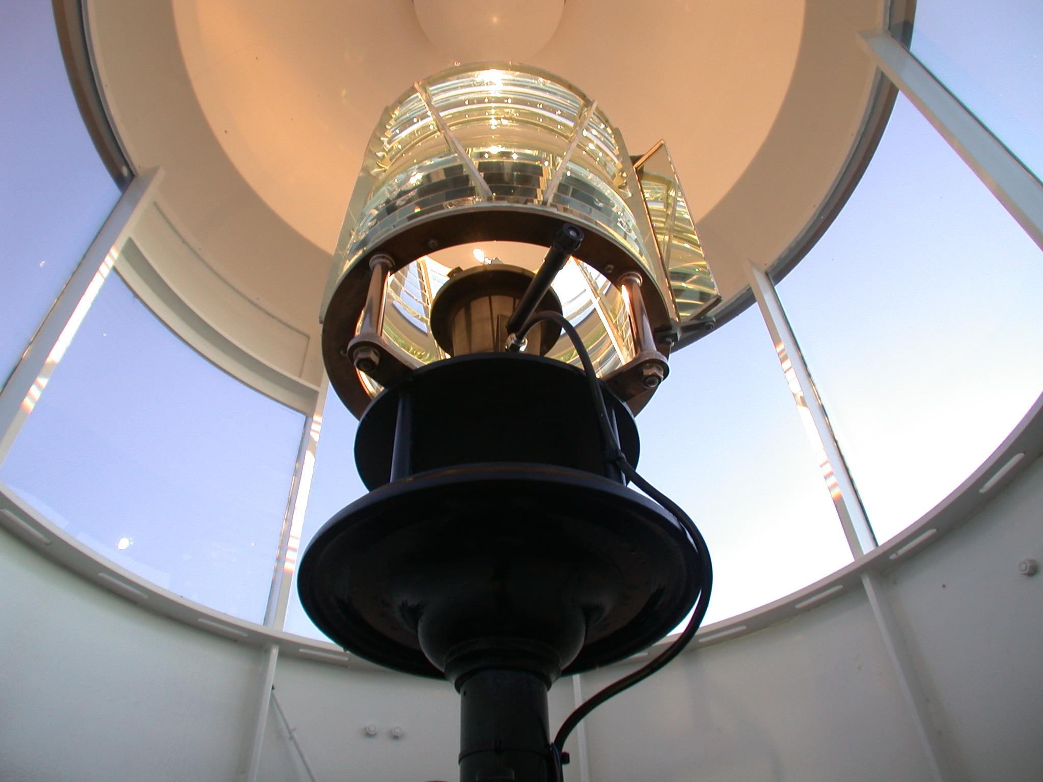 firehouse beacon coast lamp glass lighthouse light sign