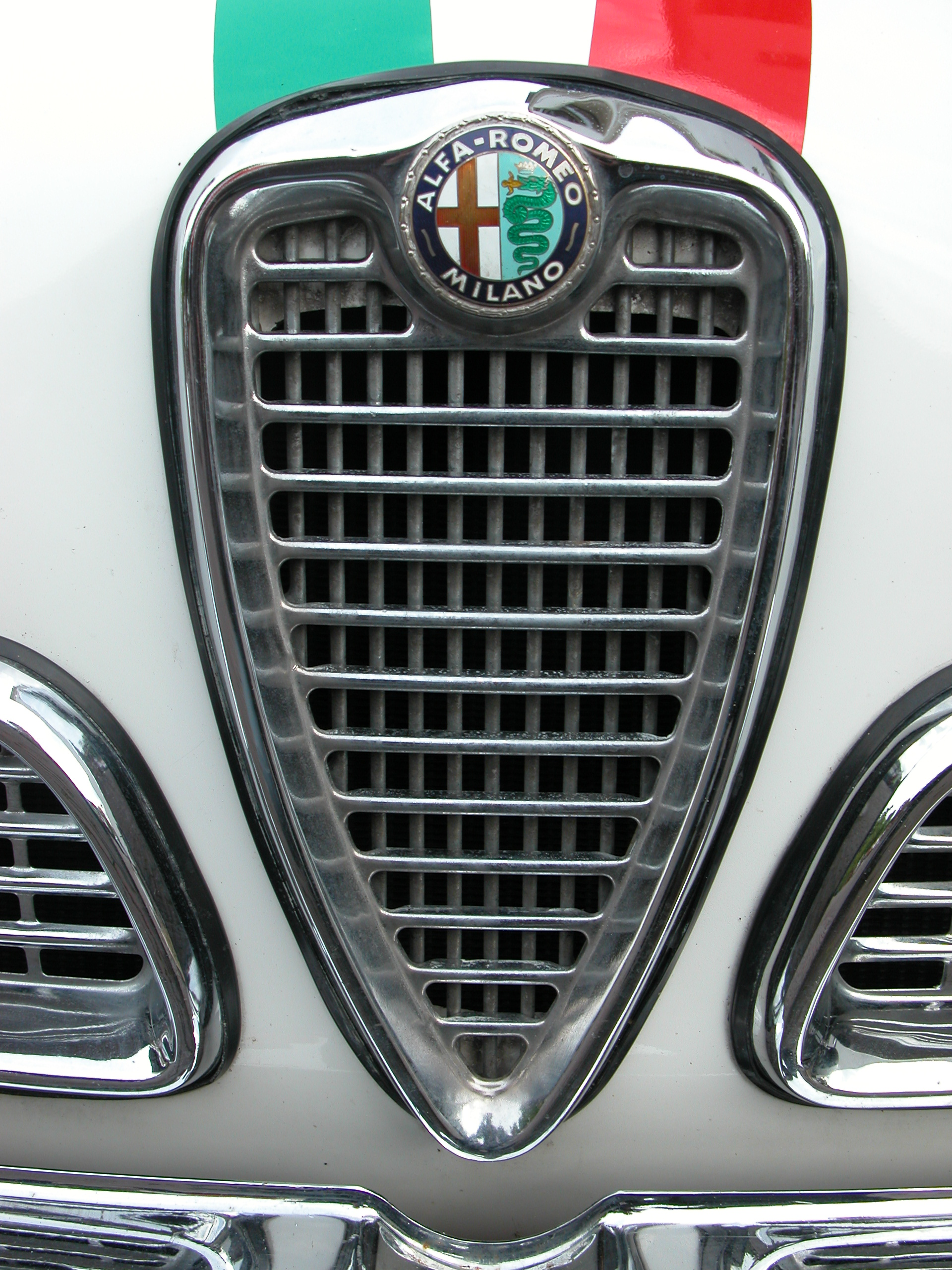 grill car classic chrome