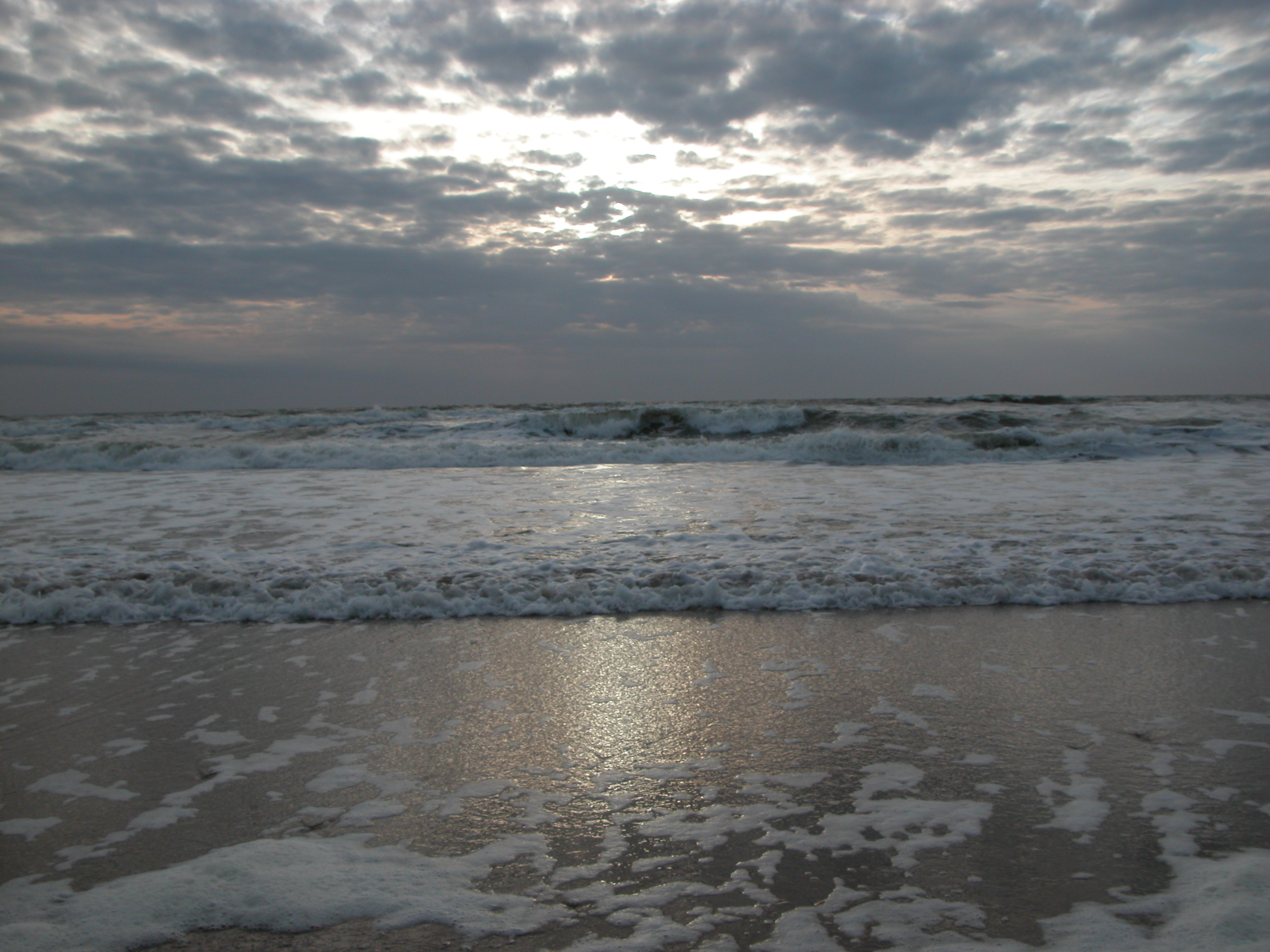 nature landscapes elements water sea ocean waves sky clouds northsea waves