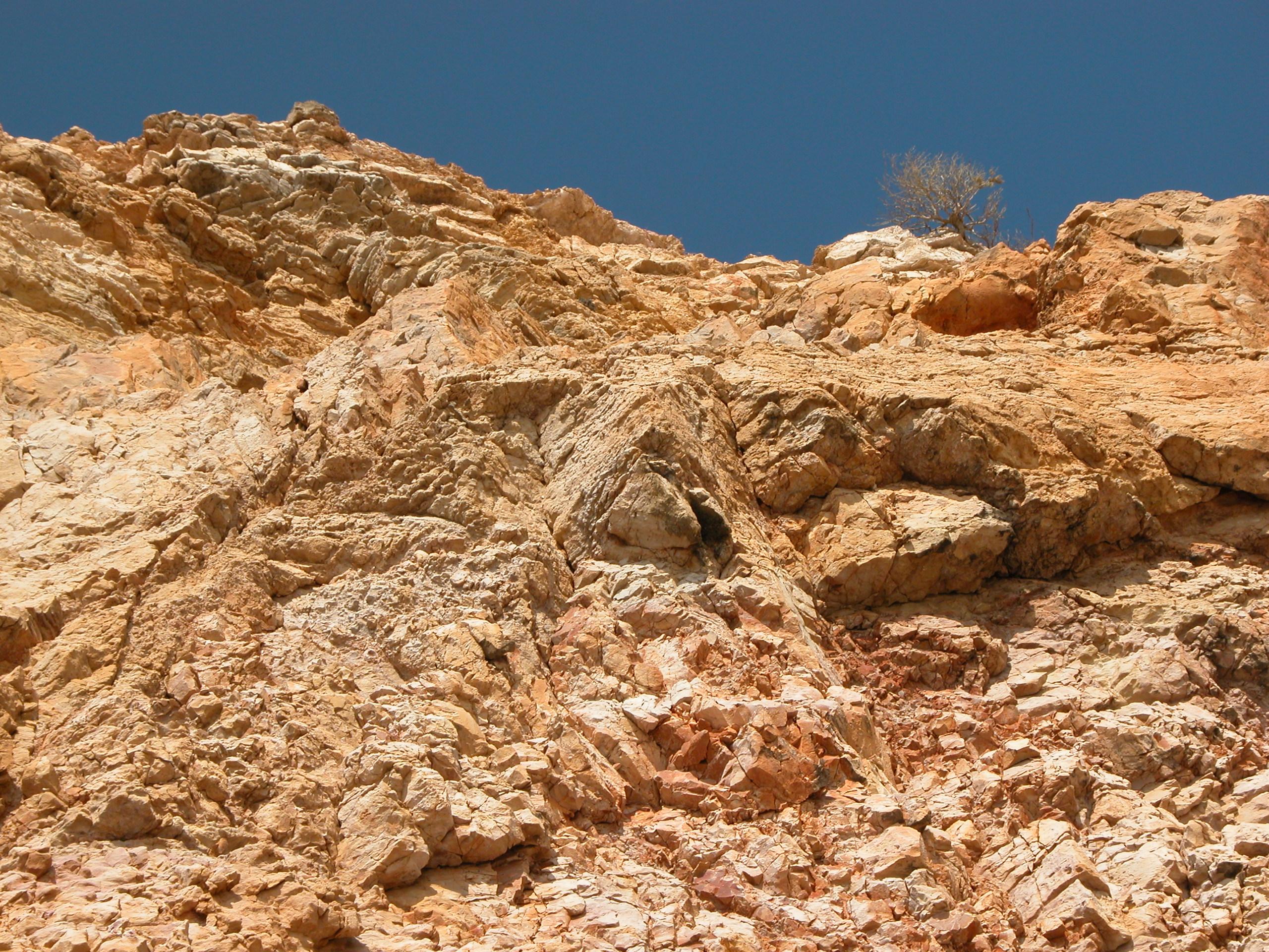 texture walls rock redrock portugal portugese medium cliff