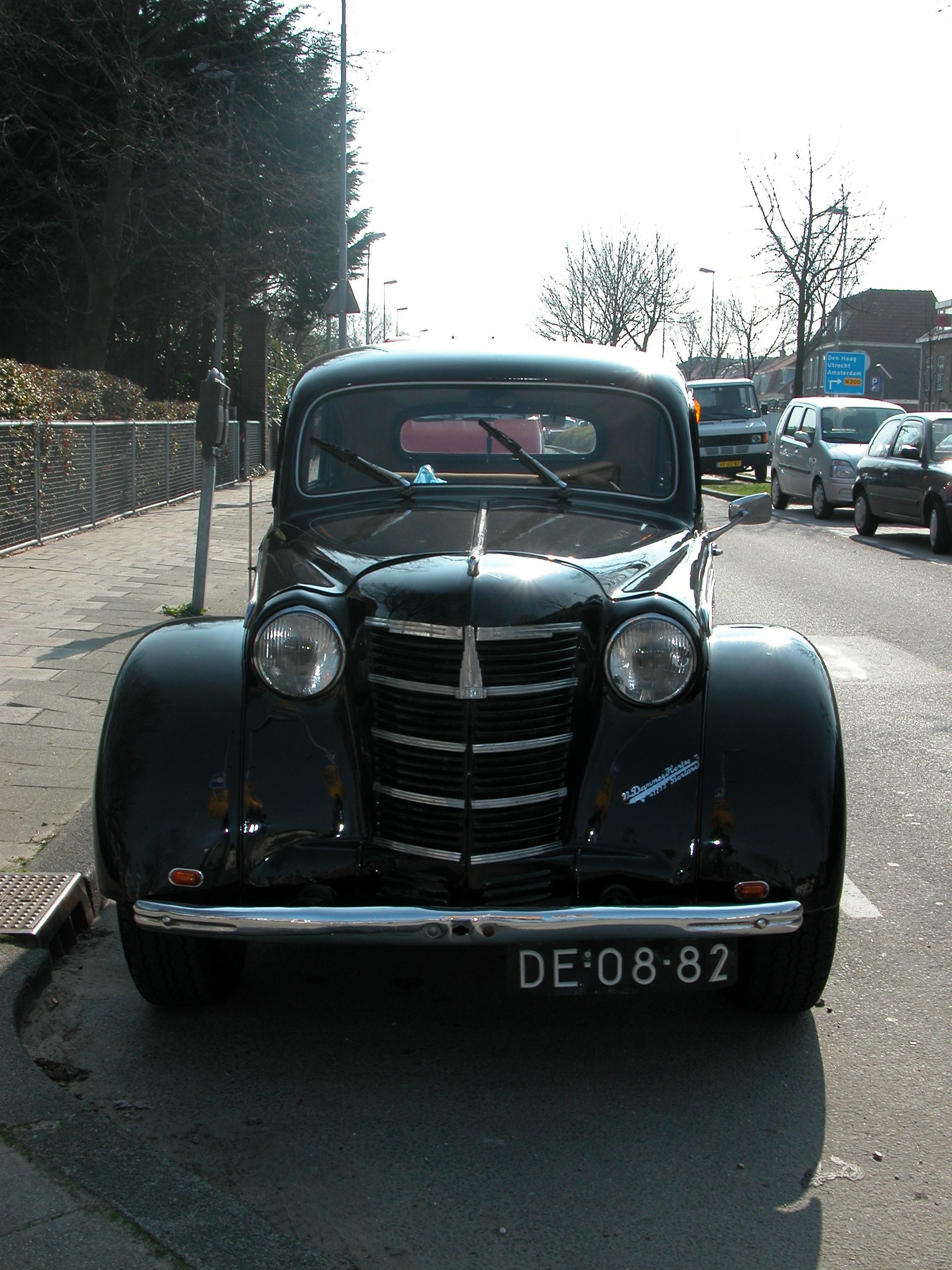 vehicles land oldtimer front grille car