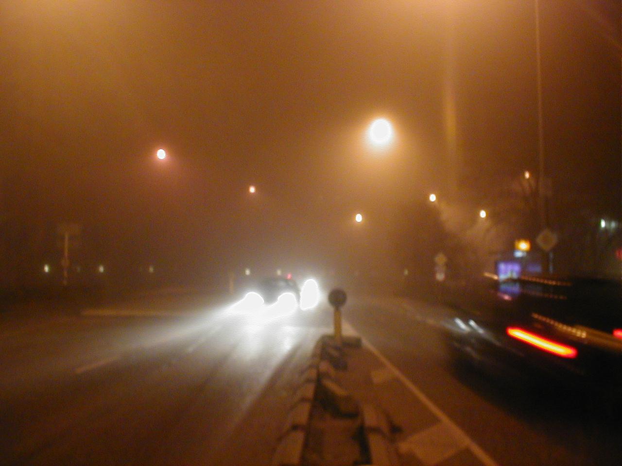 dario traffic headlight headlights night city