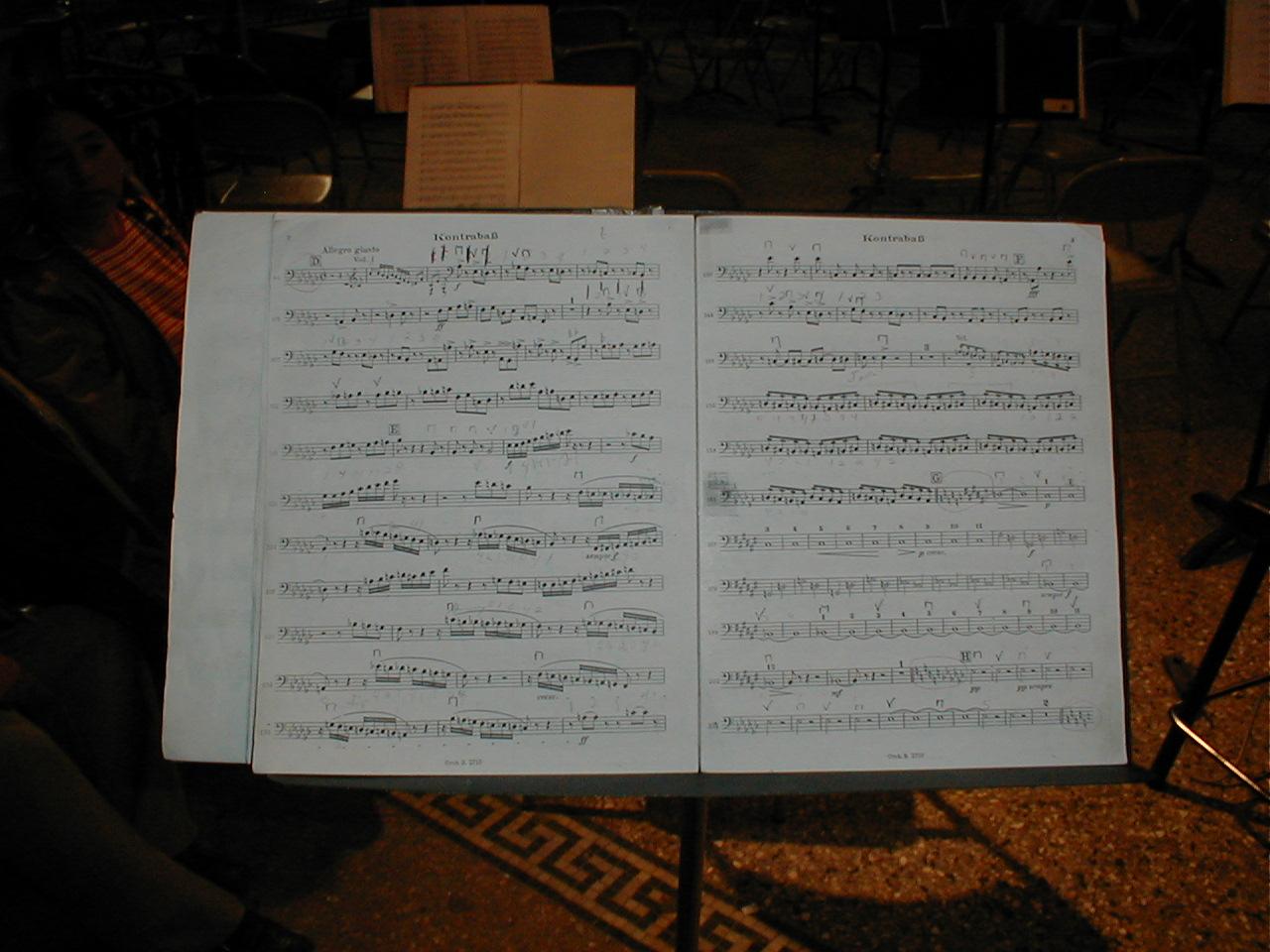 dario scripts notes music musicnotes partiture partitude orchestra musical paper