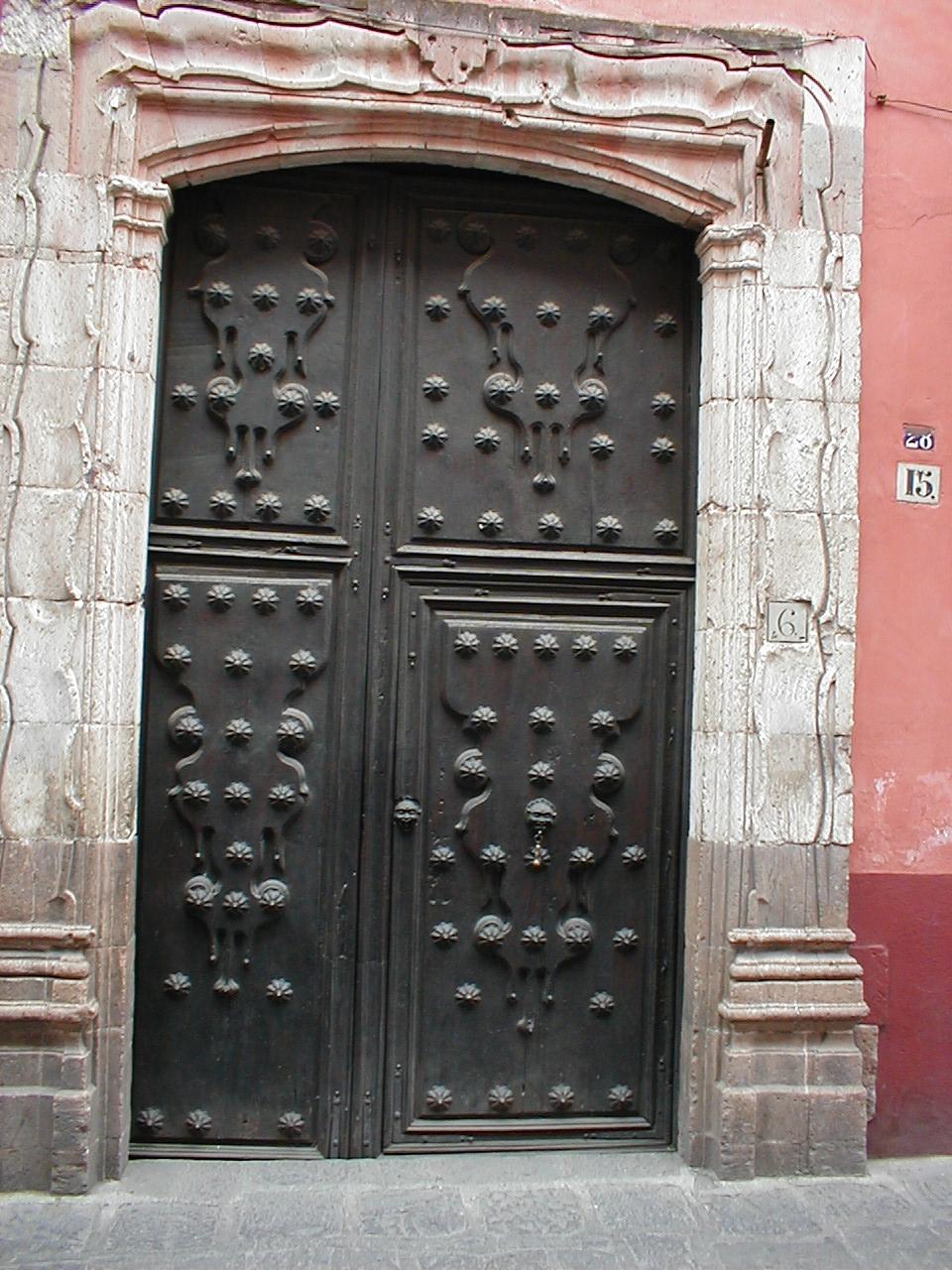 dario doors steel decorated double doors classic