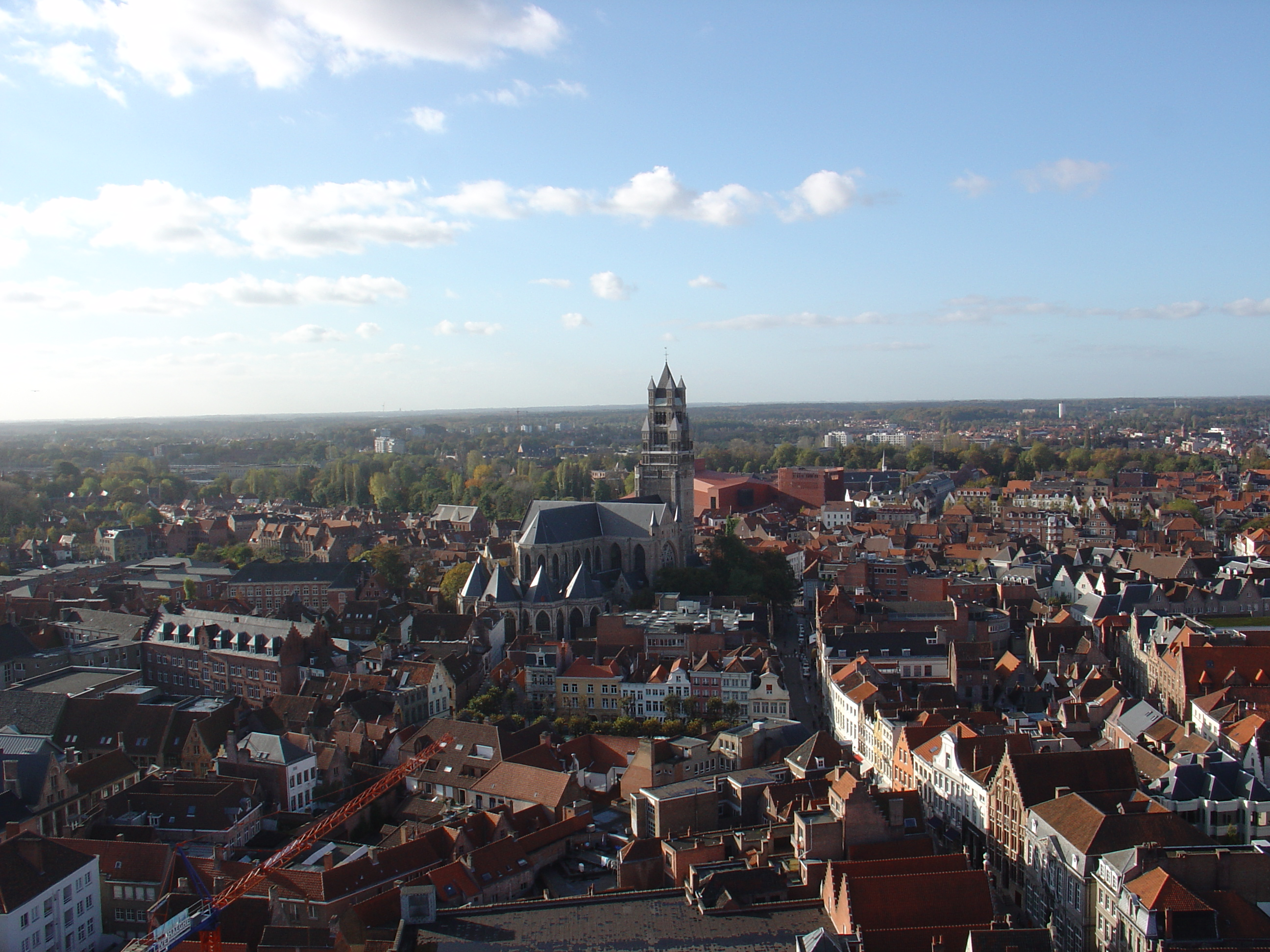 leonievdgulik city rooftops town church view overview