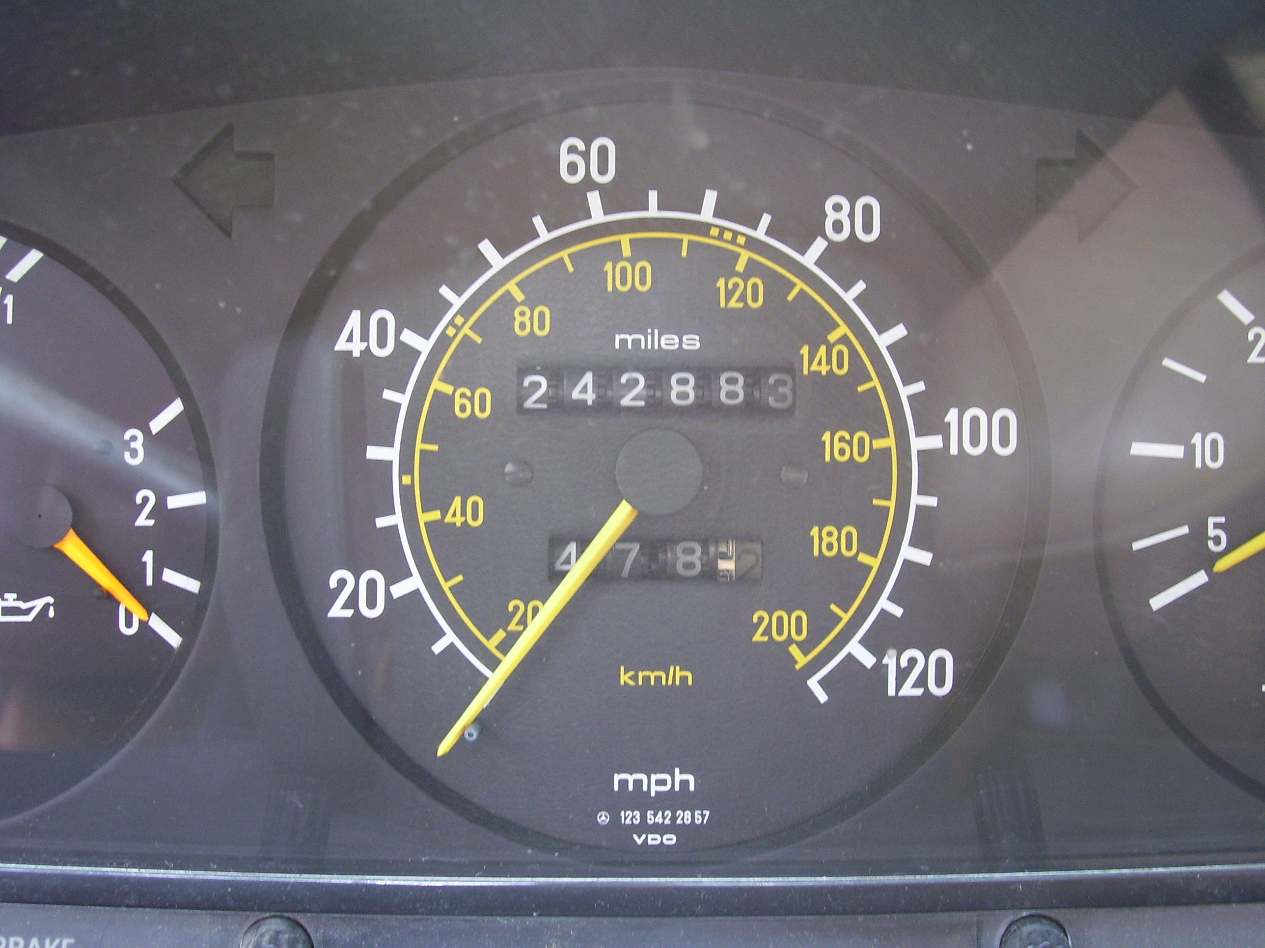makkes accelerometer car dashboard round meter speed