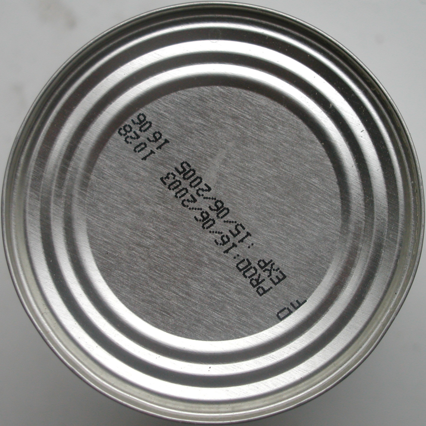 tabus tin can top bottom round rounded circle