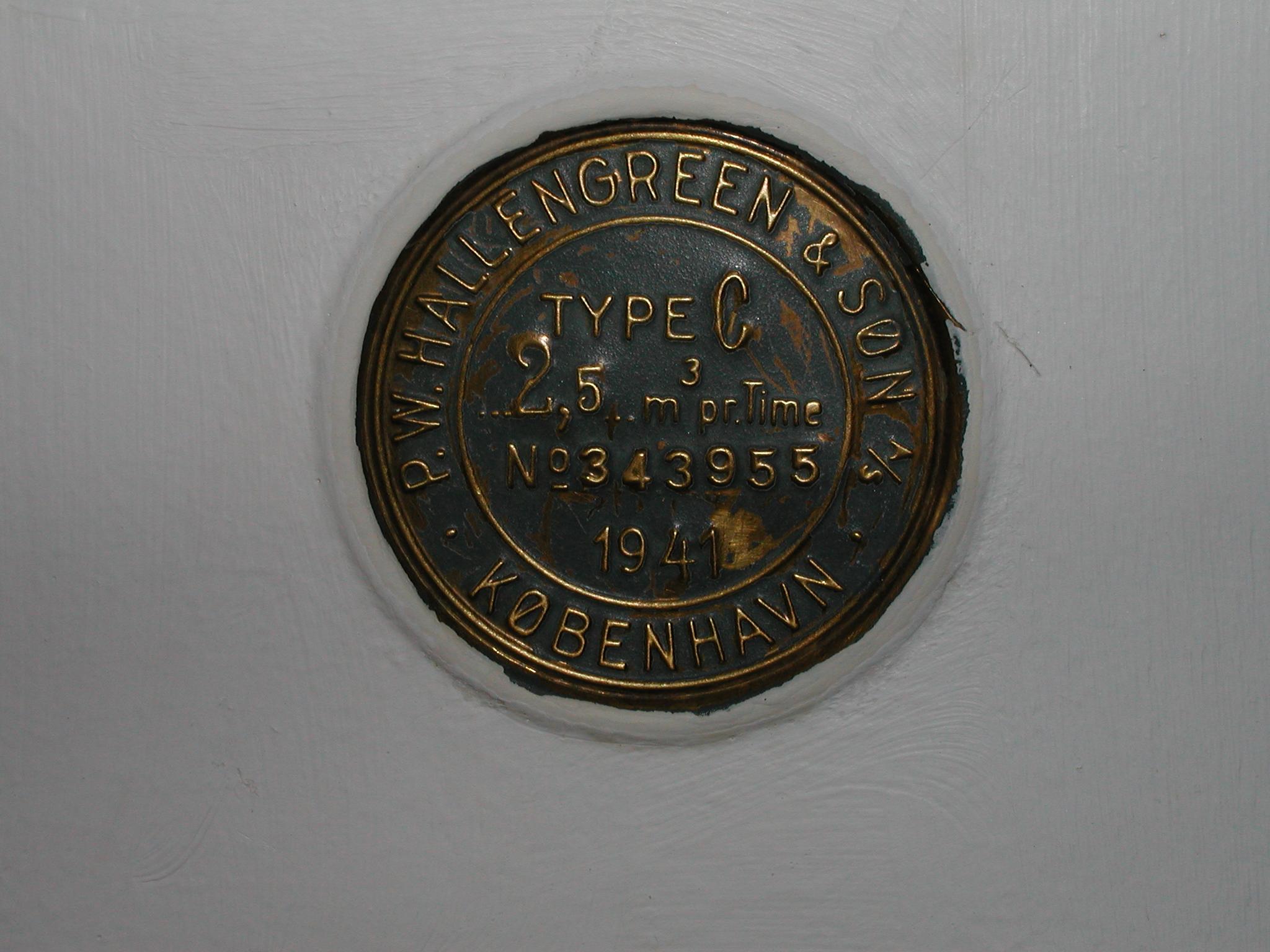 tabus time scientific copenhagen 1941 plaque commemorating image
