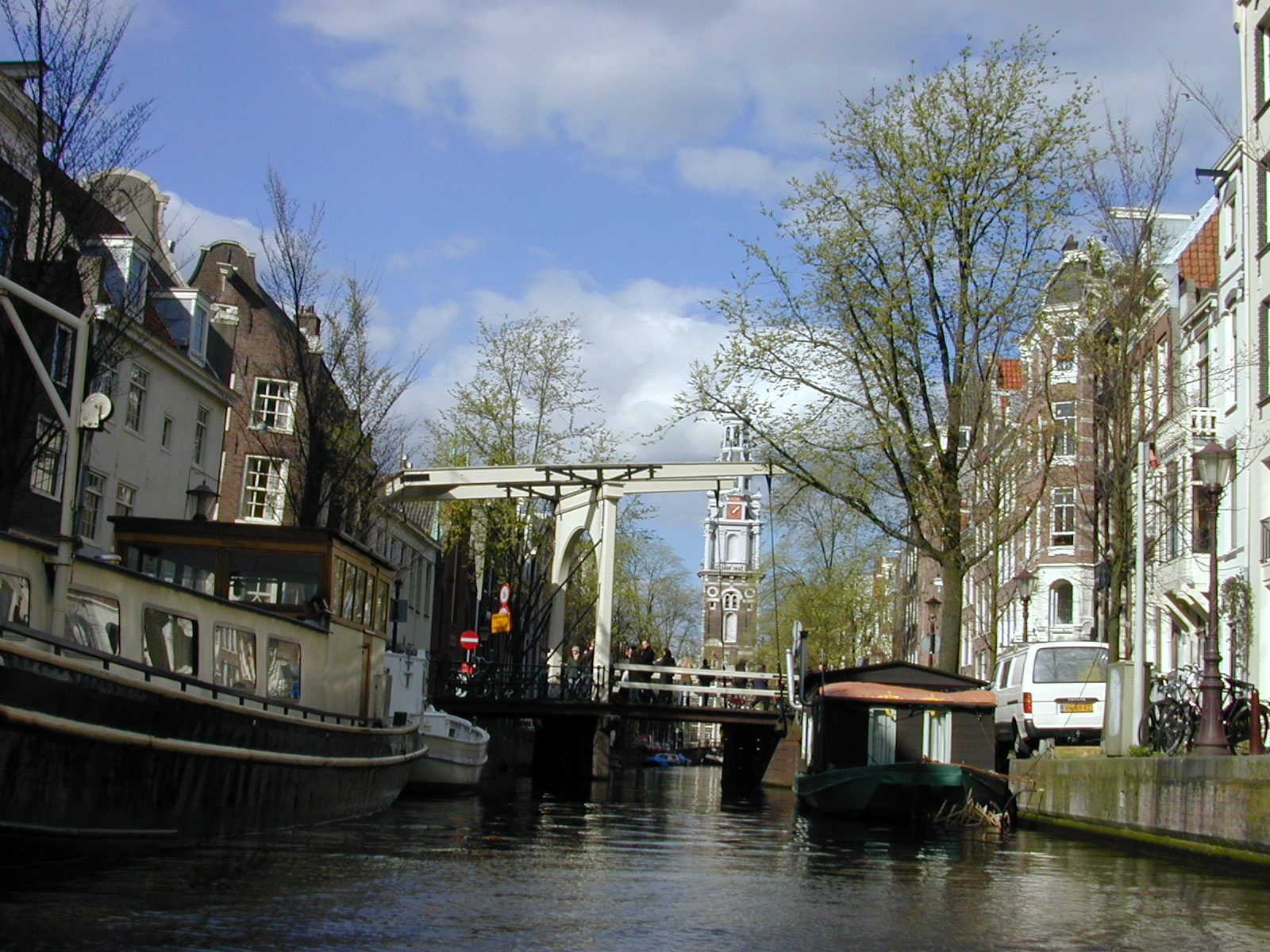 canal canals amsterdam houseboat houseboats floating docked bridge old