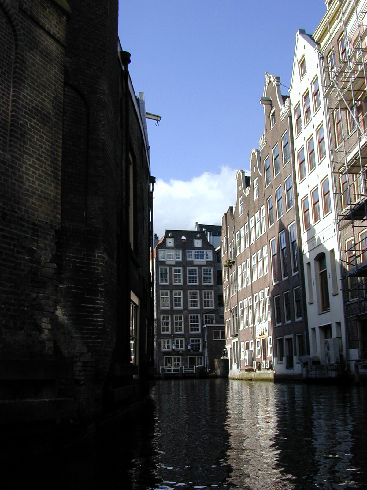 amsterdam holland the netherlands canal canals houses tall buildings water