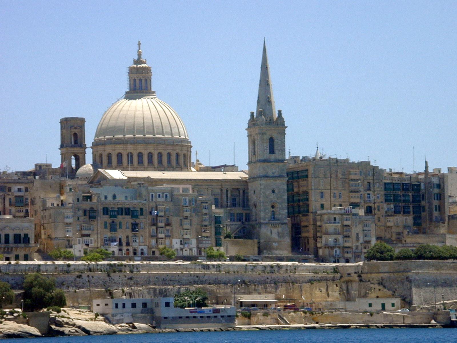 architecture exteriors city citadel cathedral mediteranean cityscape