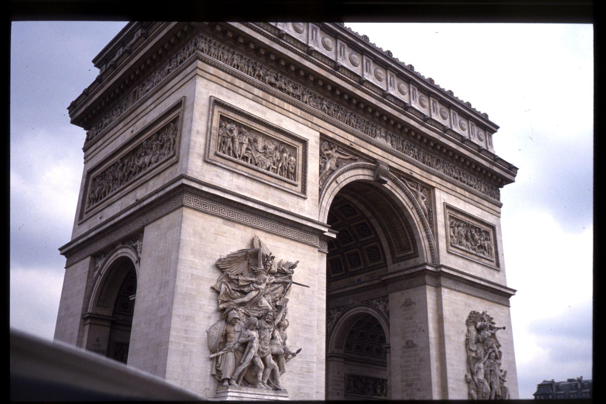 arc de triomph arc d'triomph paris france