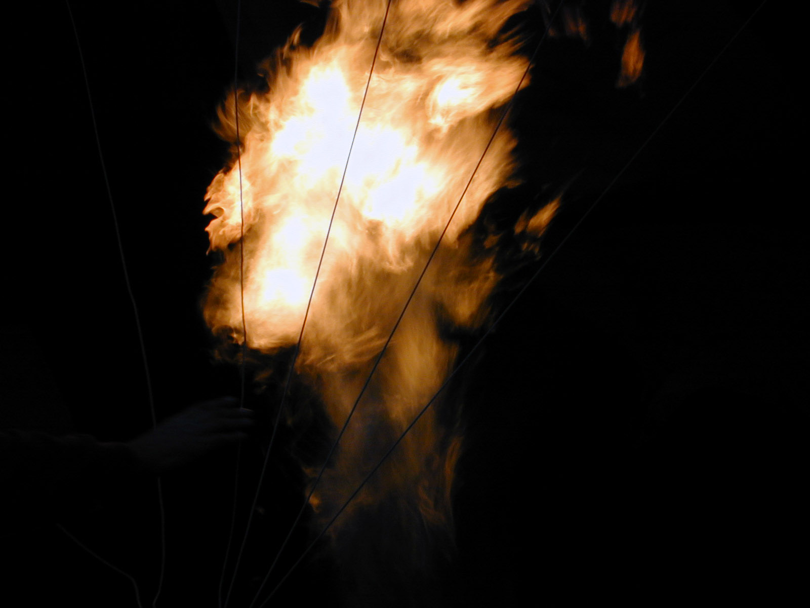 fire bright flame flames roaring darkness lighting the