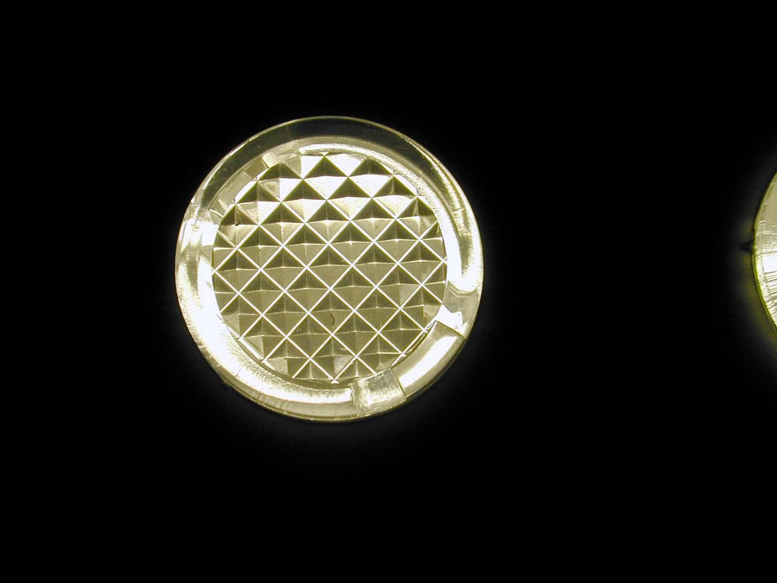 light pattern lamp reflecting golden sqaure squares circle circles