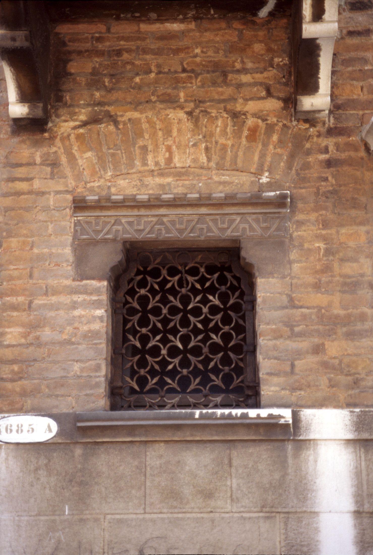 wall with window bricks malta
