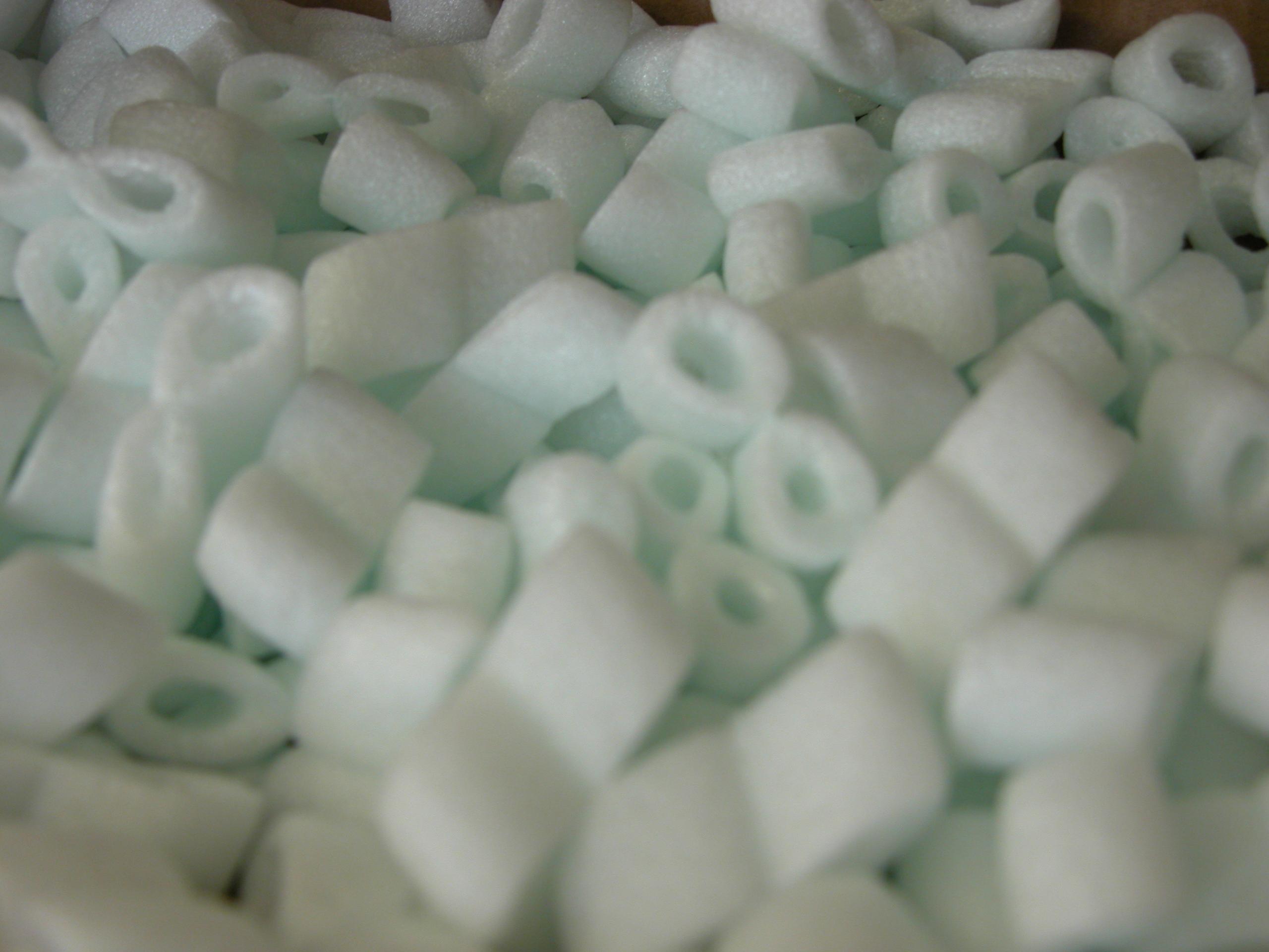 foam plastics eights soft white cushioning plastic royalty free