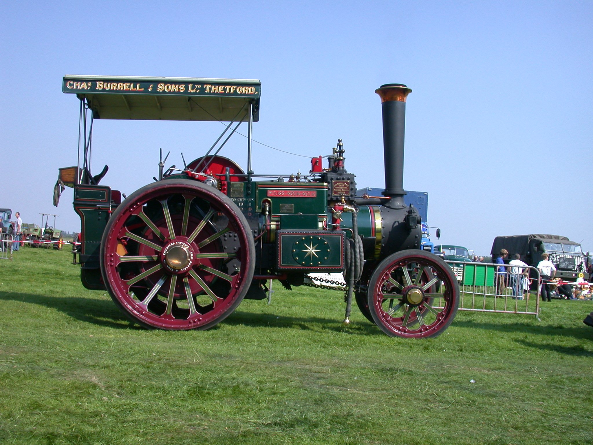 vehicles land steam engine tractor agriculture side steamengine wheel wheels iron show